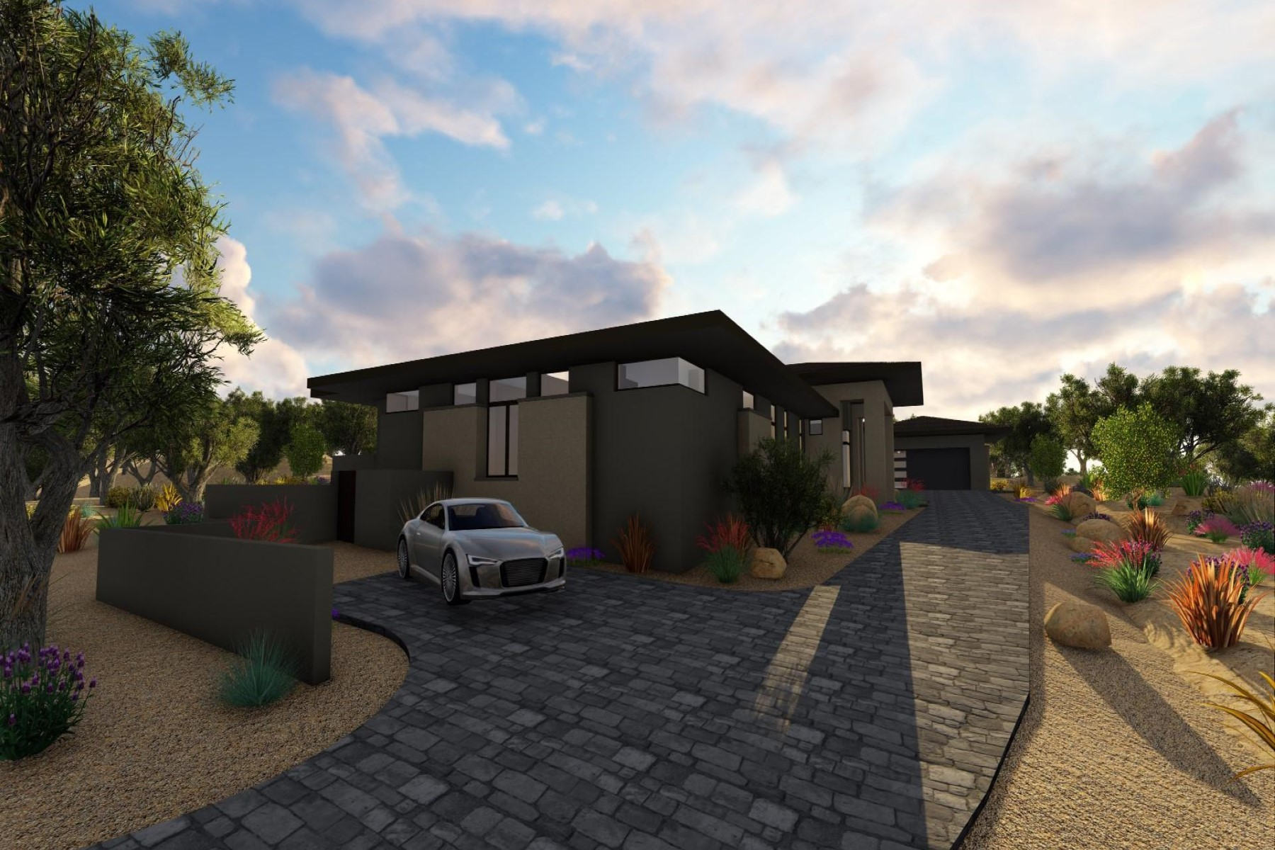 Single Family Home for Sale at New Construction in Desert Mountain 40853 N 108th Way Scottsdale, Arizona, 85262 United States