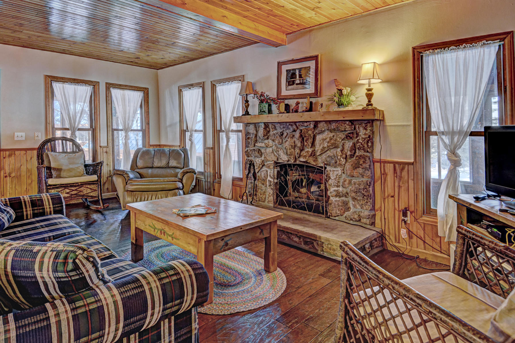 Additional photo for property listing at Majestic Log Cabin 2222 Highway 66 Estes Park, Colorado 80517 United States
