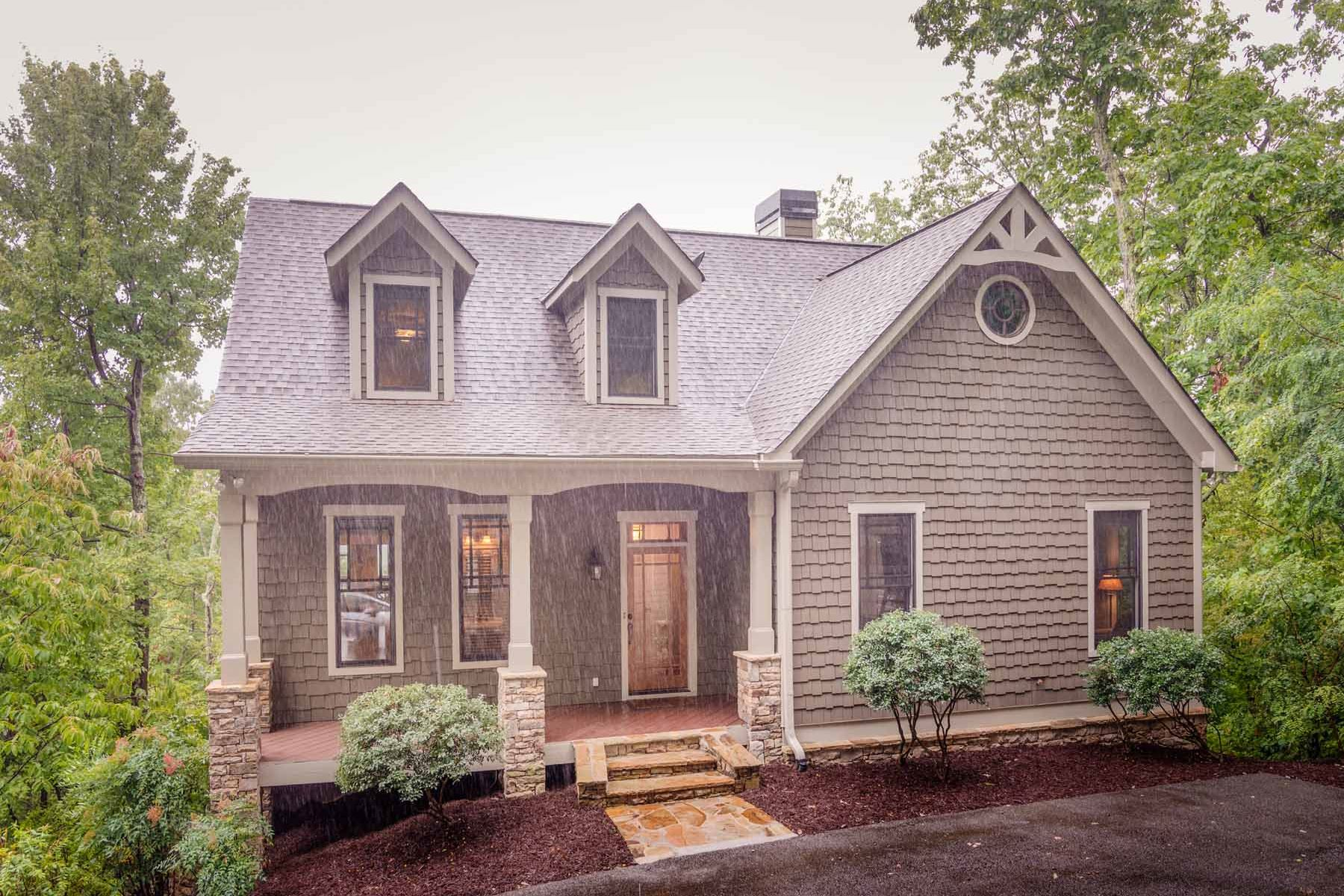 Maison unifamiliale pour l Vente à Mountain Privacy In Gated Community Only 1 Hour From Atlanta 1087 Woodland Trace Big Canoe, Georgia, 30143 États-Unis