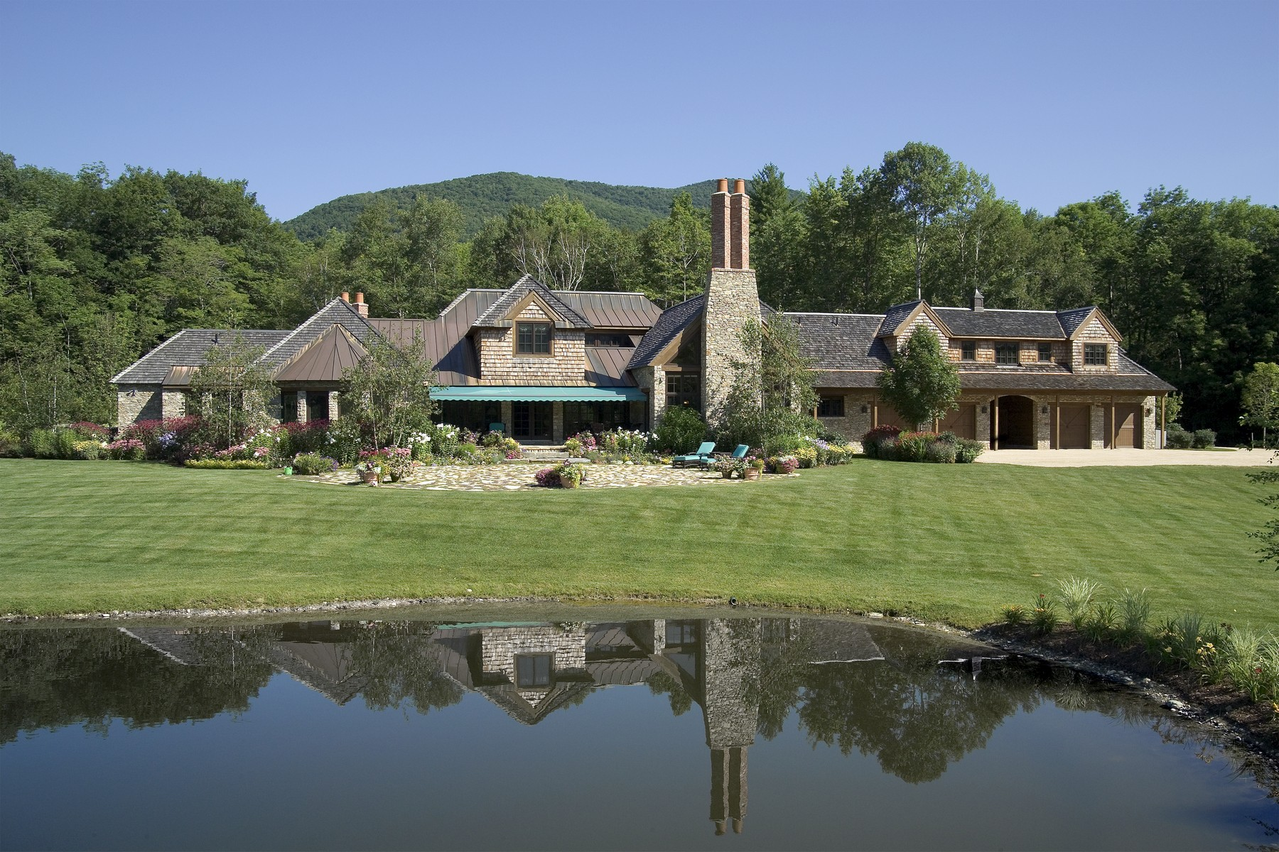 single family homes for Sale at Magnificent Stone Manor House 135 Paddock Ln Dorset, Vermont 05251 United States