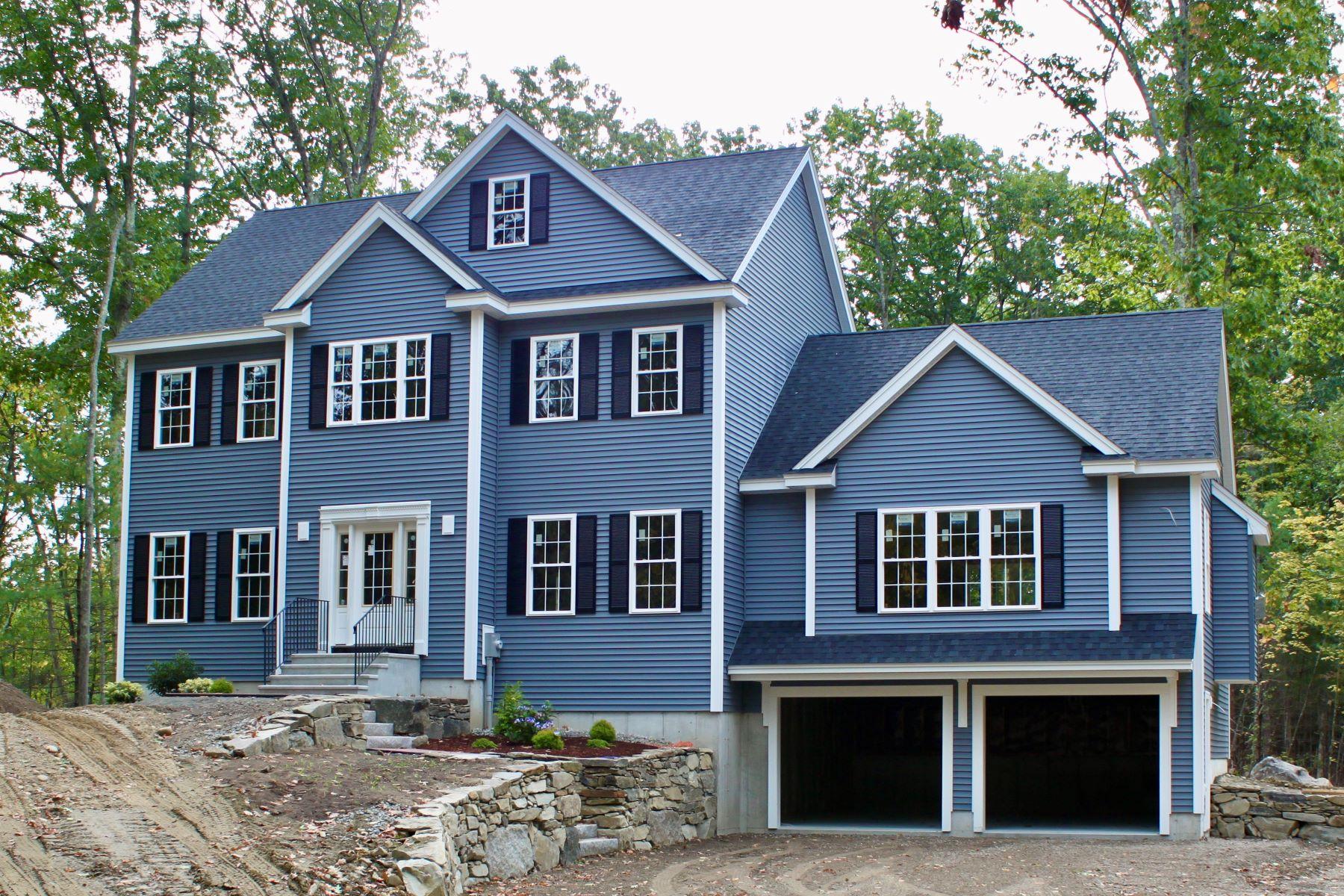 Single Family Homes por un Venta en Beautiful New-Construction Colonial in Groton 63 North Street Groton, Massachusetts 01450 Estados Unidos
