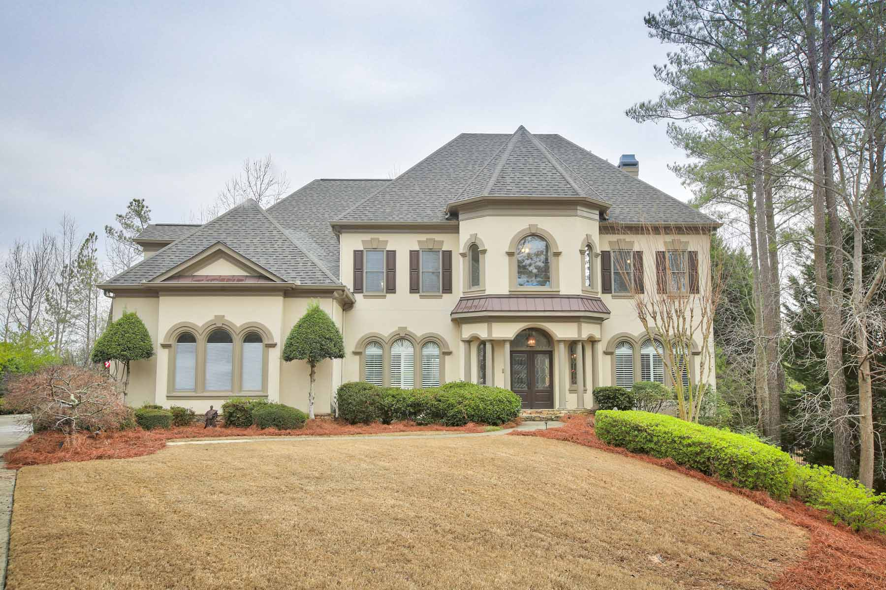 Single Family Home for Sale at Magnificent Estate With Beautiful Outdoor Entertaining 1006 Tullamore Place Alpharetta, Georgia, 30022 United States