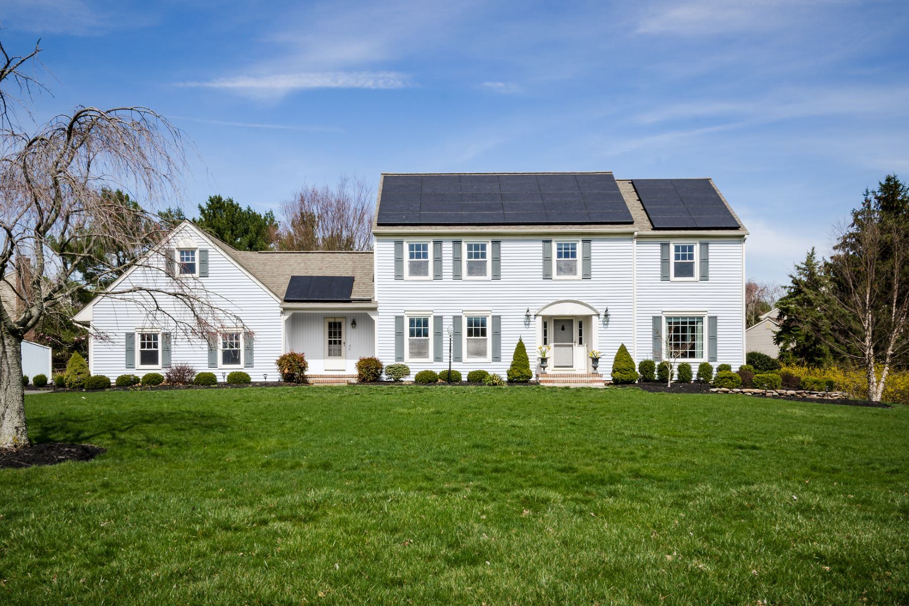Single Family Home for Sale at Pretty And Picturesque With Many Updates - Montgomery Township 2 Grist Mill Drive Belle Mead, New Jersey, 08502 United States