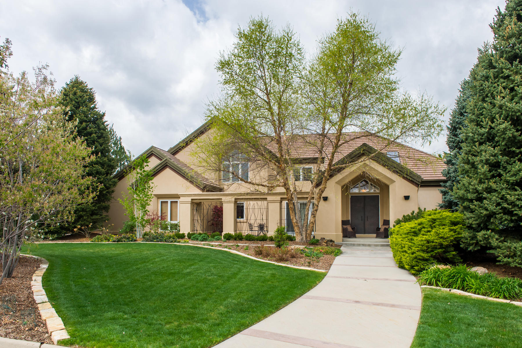 Single Family Home for Sale at Stunning Residence, Completely Renovated, 3/4 Acre Lot 5761 S. Elm Street Greenwood Village, Colorado, 80121 United States