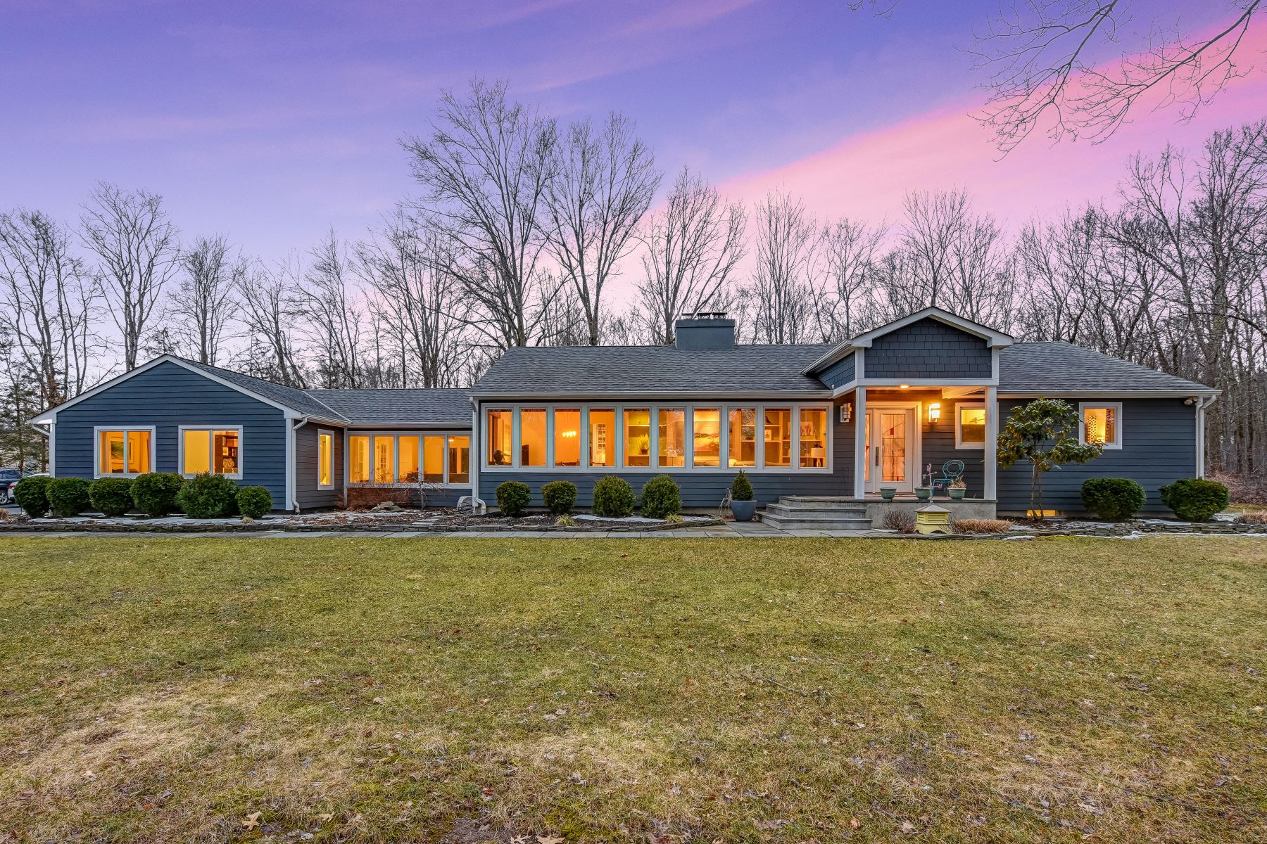 Single Family Homes for Sale at Stunning Ranch 7 Yardley Road Mendham, New Jersey 07945 United States
