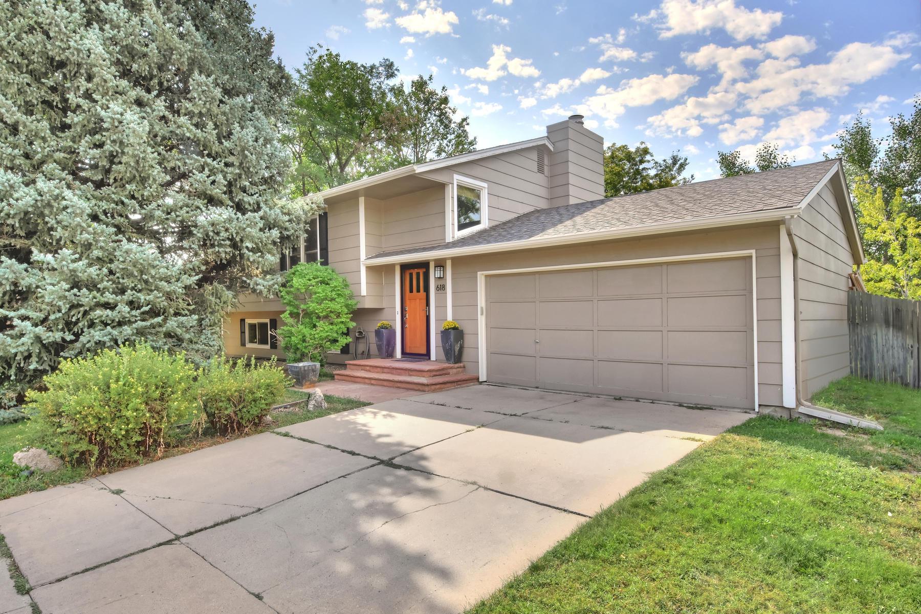 Single Family Homes για την Πώληση στο A Home That Fits Your Lifestyle 618 Glenwood Dr, Lafayette, Κολοραντο 80026 Ηνωμένες Πολιτείες