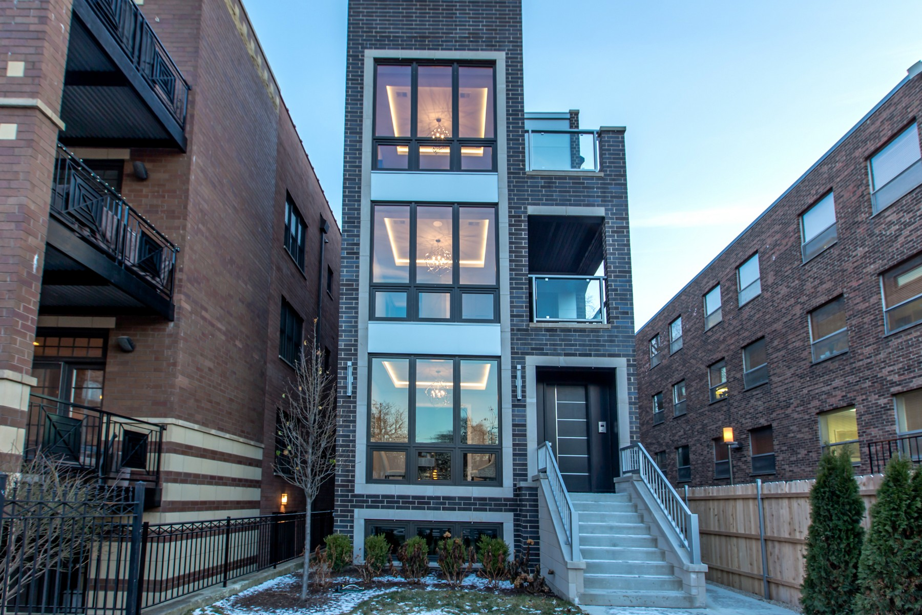 Condominium for Sale at New Construction in Lincoln Park 729 W Diversey Parkway Unit 3, Lincoln Park, Chicago, Illinois, 60614 United States