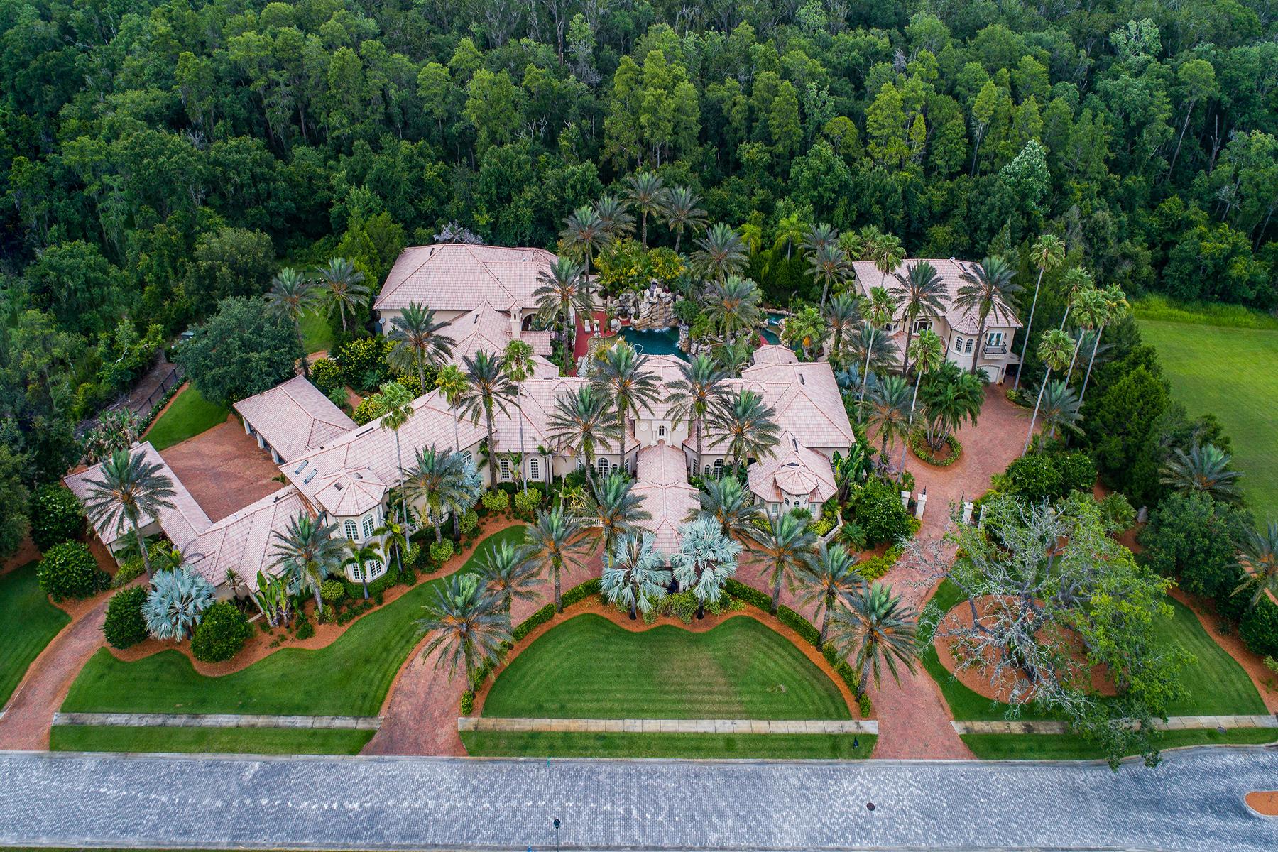 Single Family Homes for Sale at 3255 Buffalo Run Tarpon Springs, Florida 34688 United States