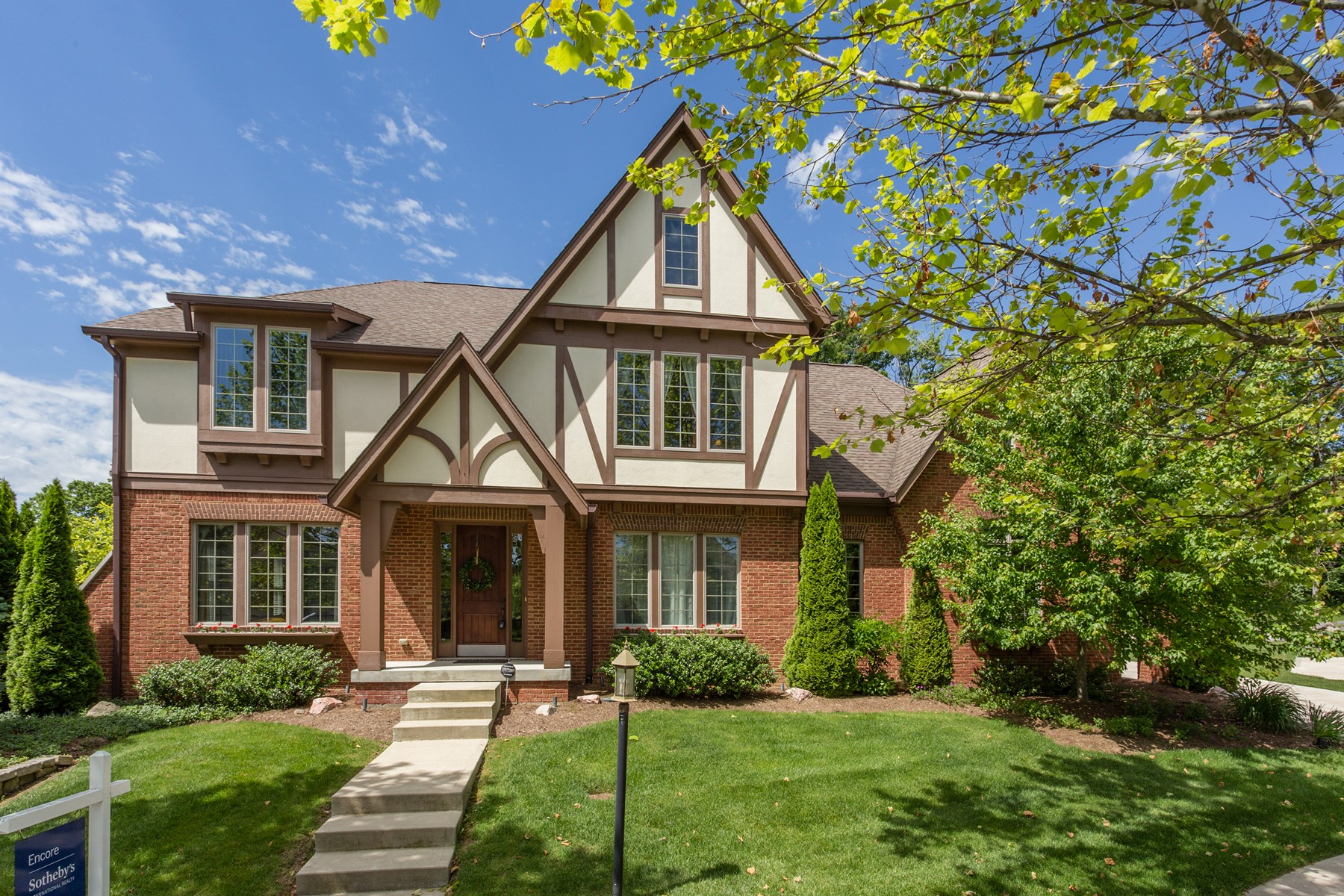 Single Family Home for Sale at Classic Tudor Home 5319 Randolph Crescent Drive Carmel, Indiana, 46033 United States