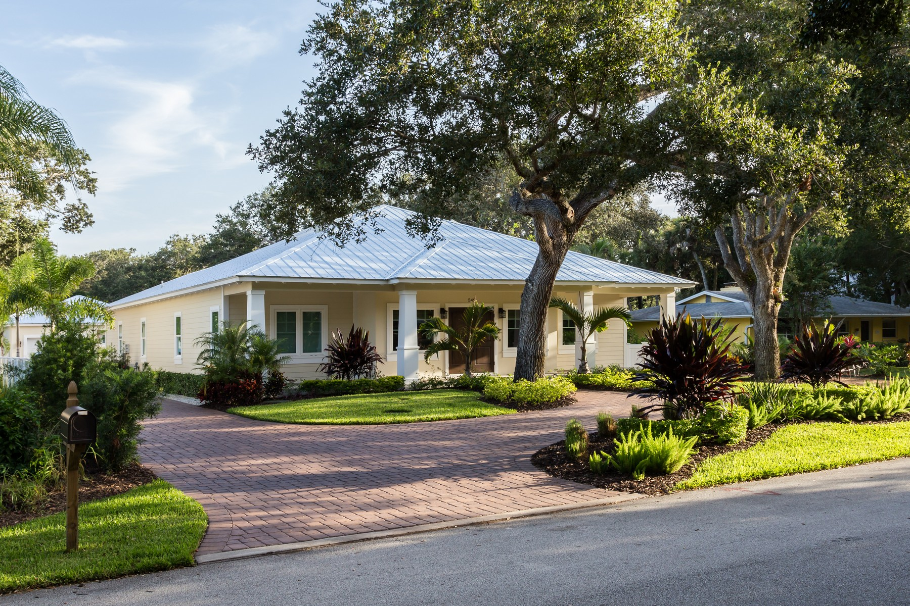Single Family Home for Sale at Gorgeous Key West Style Bungalow in Central Beach 548 Conn Way Vero Beach, Florida 32963 United States
