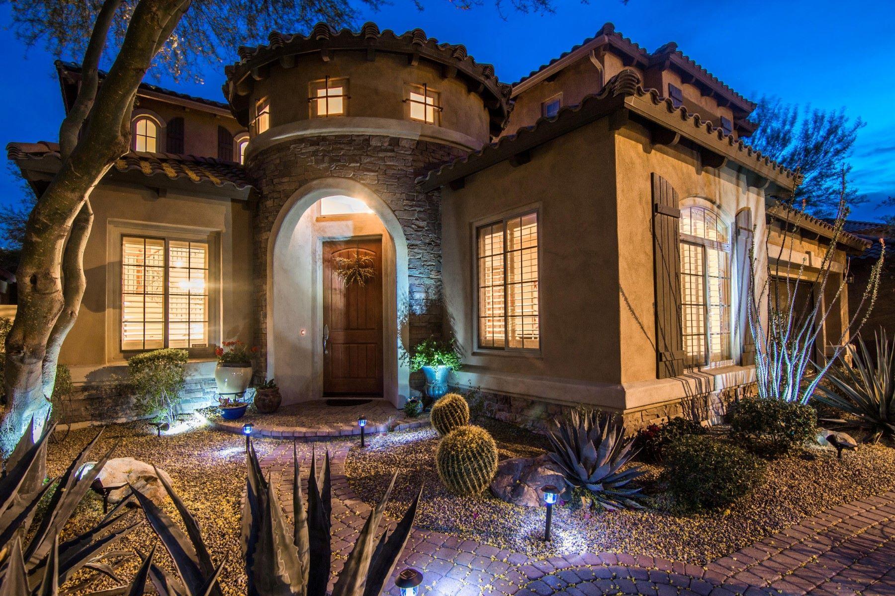 Casa Unifamiliar por un Venta en Perfect home in the coveted Aviano at Desert Ridge 3837 E Patrick Ln Phoenix, Arizona, 85050 Estados Unidos