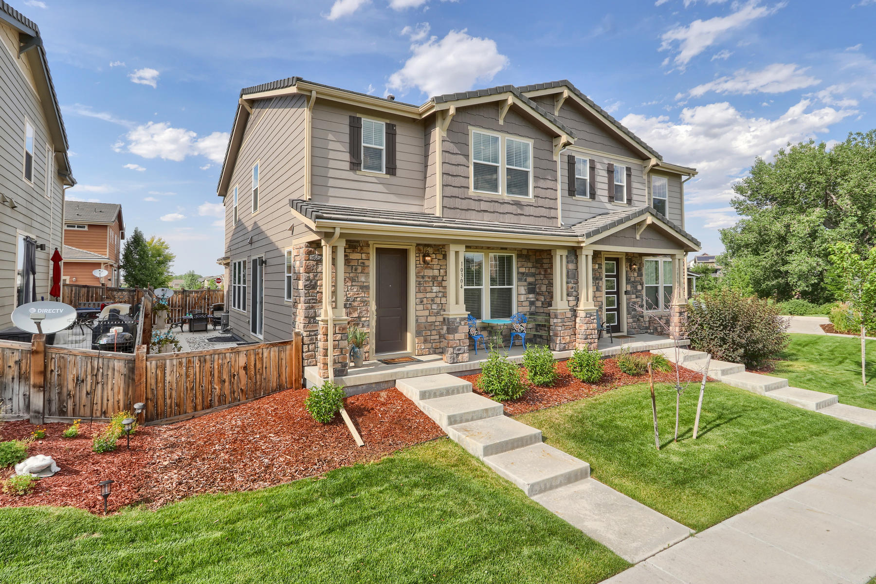 townhouses for Sale at 10304 Tall Oaks Circle, Parker, Colorado 80134 United States