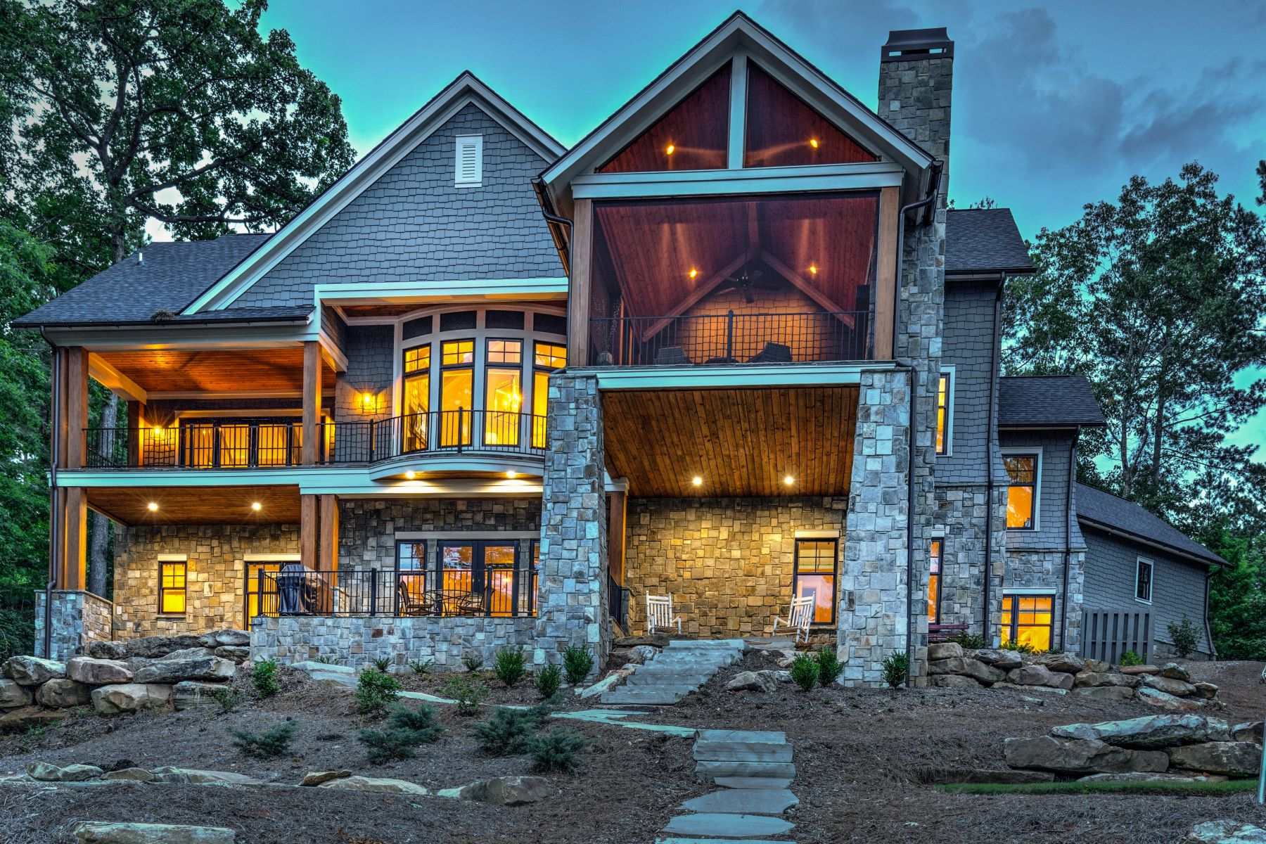 Single Family Homes for Active at Wonderful Lake Residence 188 Hickory Springs Way Six Mile, South Carolina 29682 United States