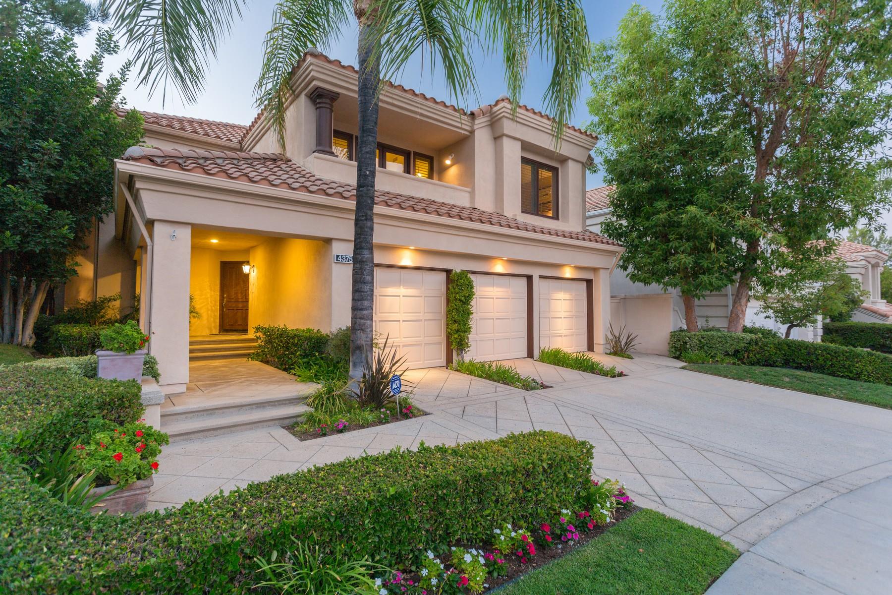Casa Unifamiliar por un Venta en 4375 Park Blu, Calabasas Ca 91302 Calabasas, California, 91302 Estados Unidos