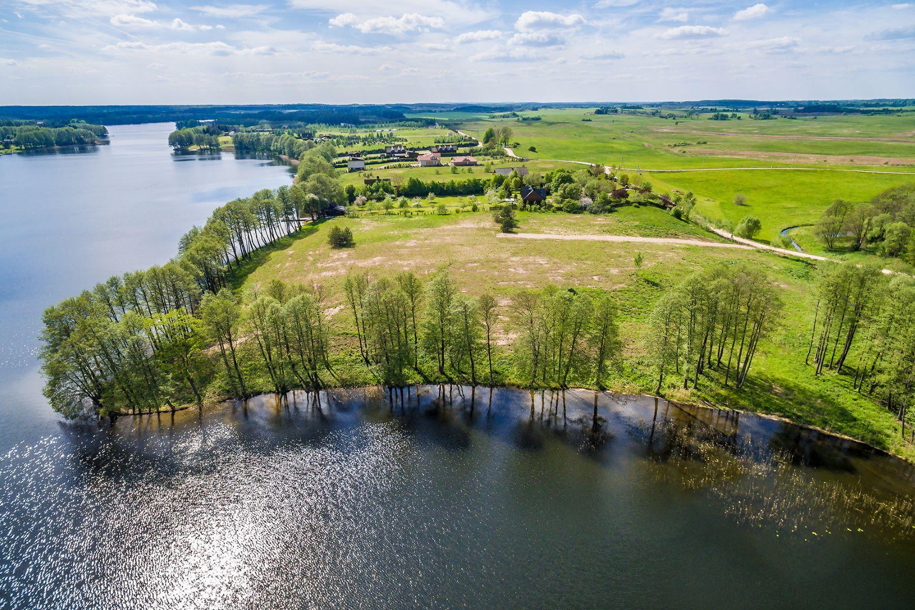 土地 为 销售 在 Outstanding Land Parcel On The Shore Of Lake Margis 立陶宛其他城市, 立陶宛城市, 立陶宛