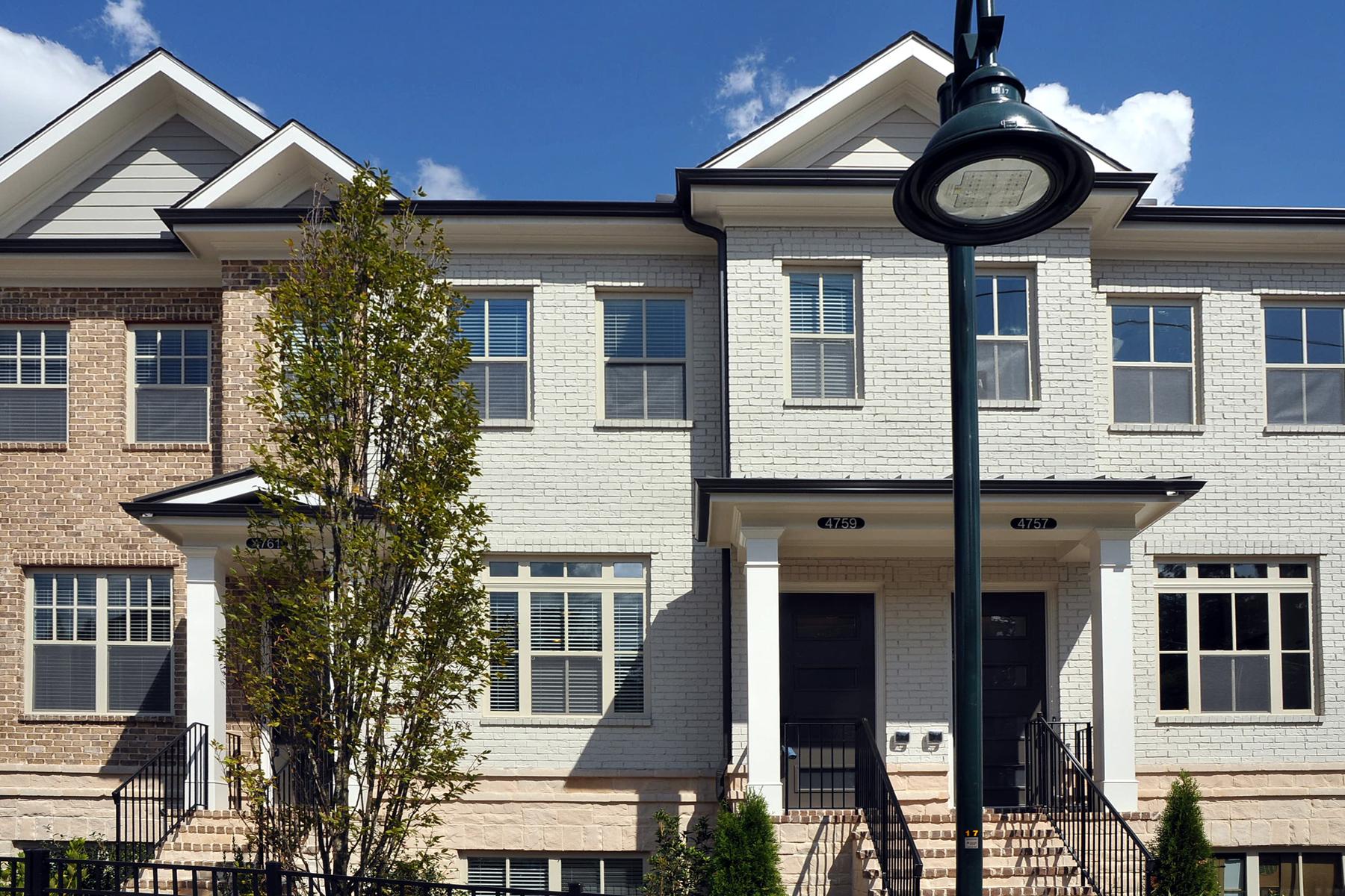 Maison accolée pour l à louer à Beautiful Three Story Townhome 4759 Roswell Road Sandy Springs, Georgia, 30342 États-Unis