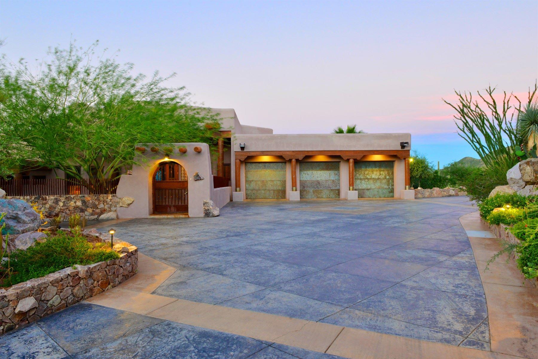 一戸建て のために 売買 アット One of the City's Most Private and Meticulously Built Home 5153 W Saguaro Cliffs Drive, Tucson, アリゾナ, 85745 アメリカ合衆国