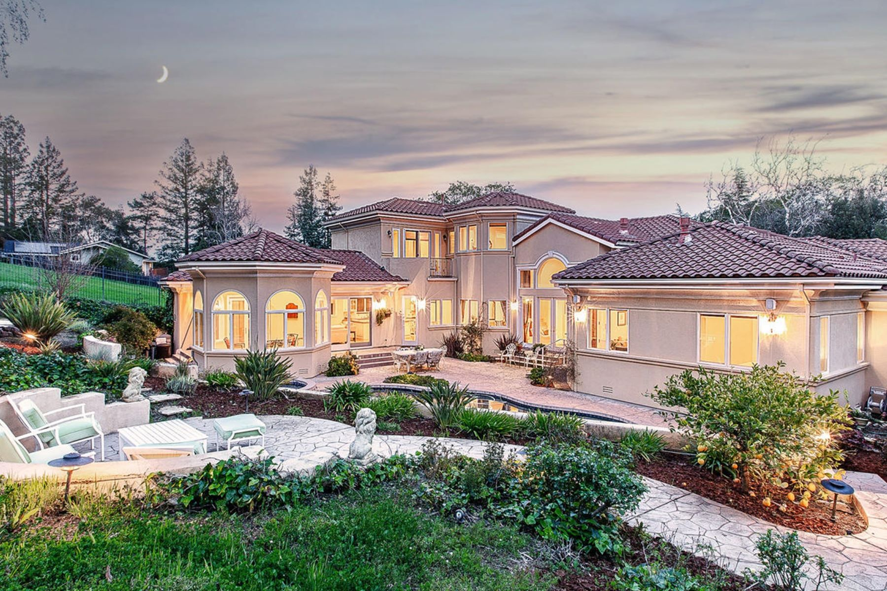 Single Family Homes for Sale at Prestigious Almaden Country Club 7121 Echo Loop San Jose, California 95120 United States