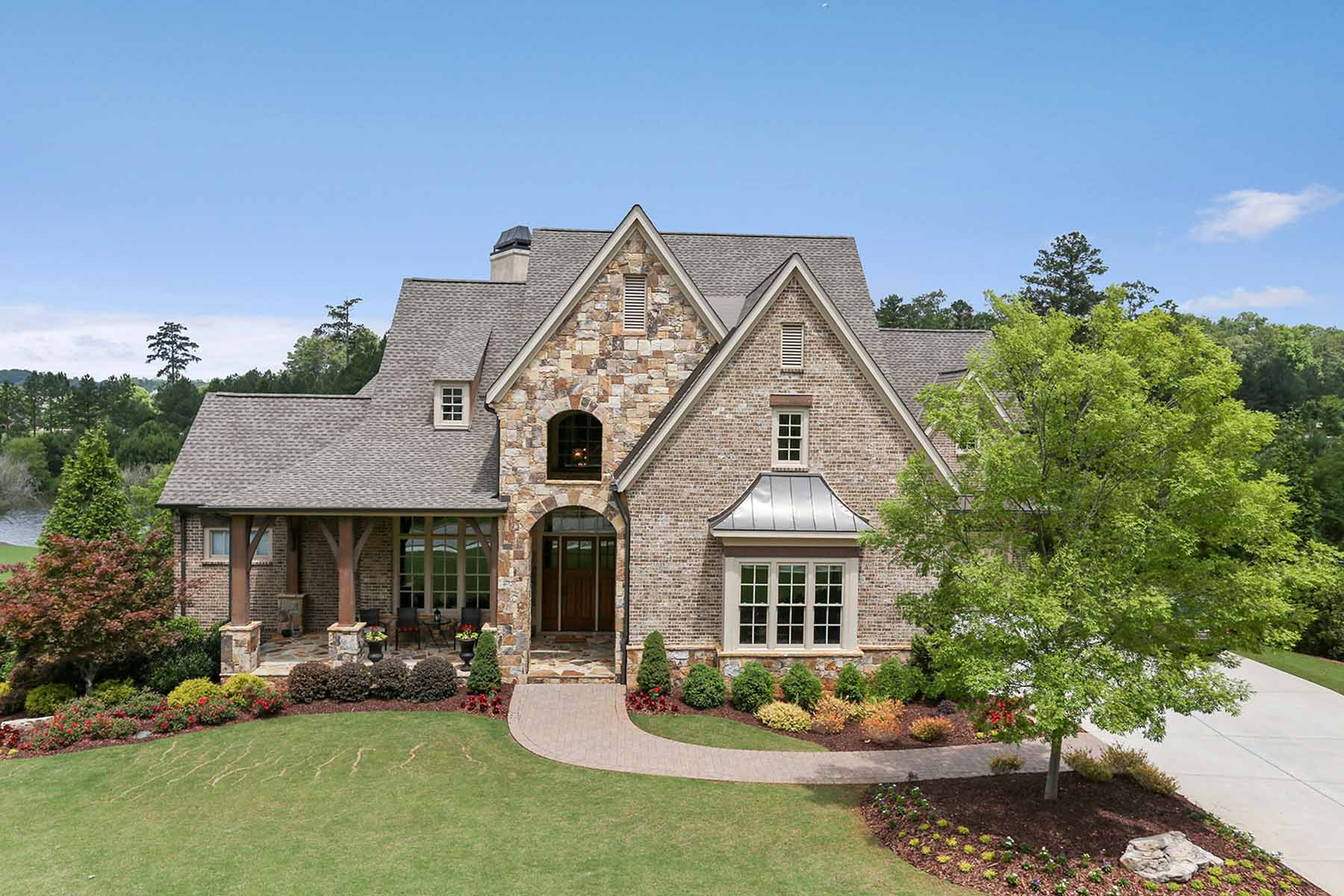 Single Family Home for Sale at Views of Lake and Golf Course 928 Crescent River Pass Suwanee, Georgia, 30024 United States