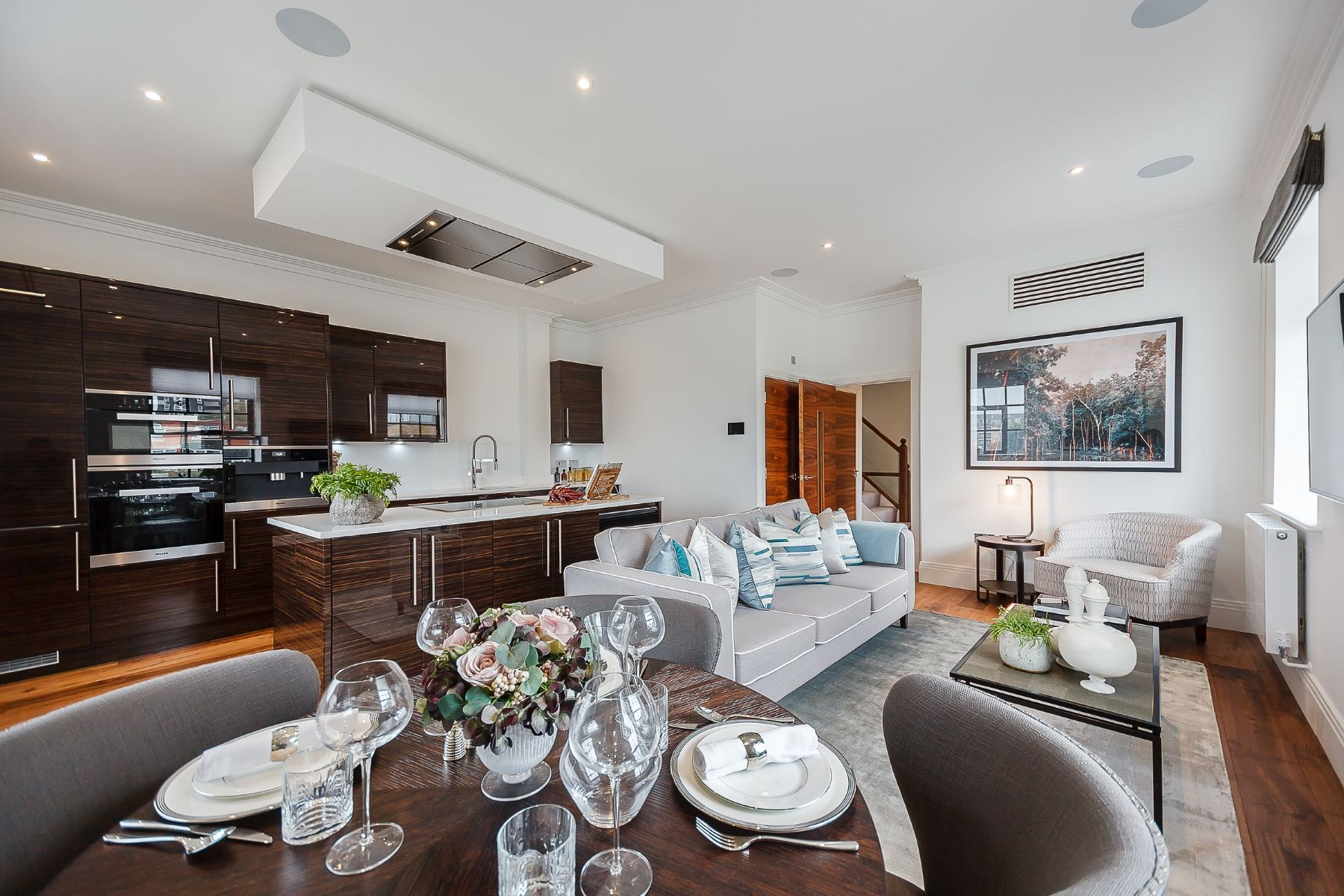 Apartamento por un Alquiler en Palace Wharf, Fulham, W6 London, Inglaterra, Reino Unido