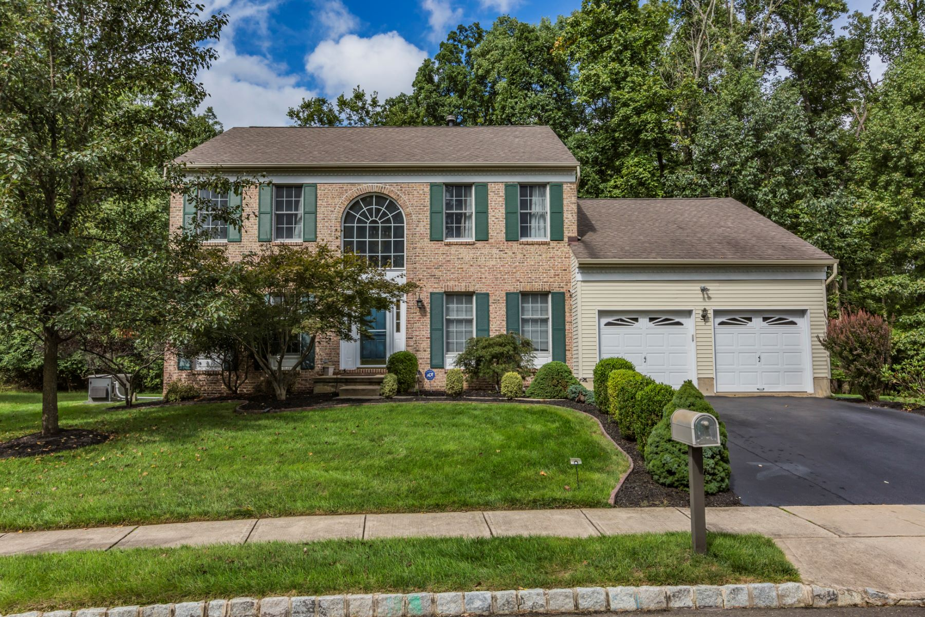 Single Family Home for Sale at All Roads Lead to Regal Colonial in The Preserve 12 Michelle Court, Princeton, New Jersey 08540 United StatesMunicipality: South Brunswick Township