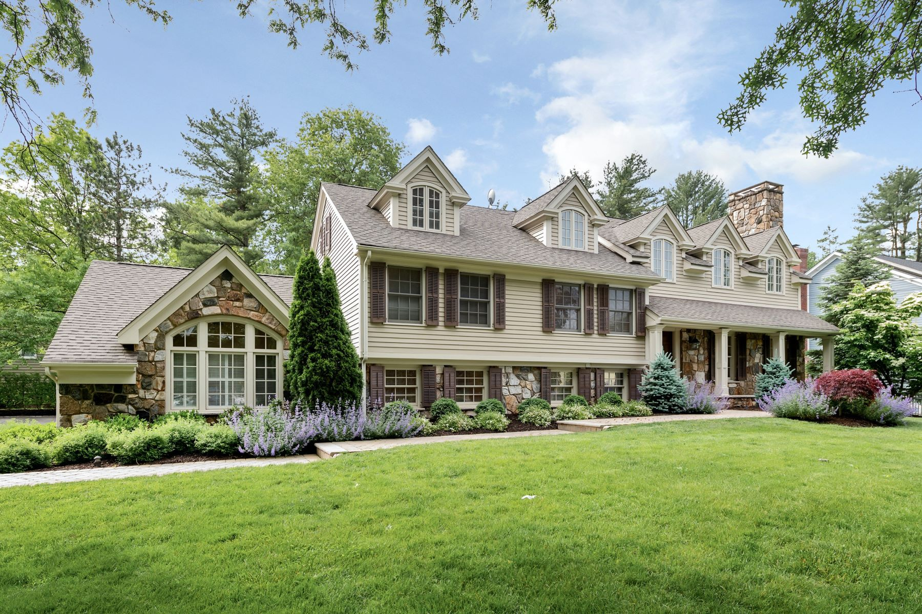 Single Family Homes for Sale at Custom Home 100 Noe Avenue Chatham Township, New Jersey 07928 United States