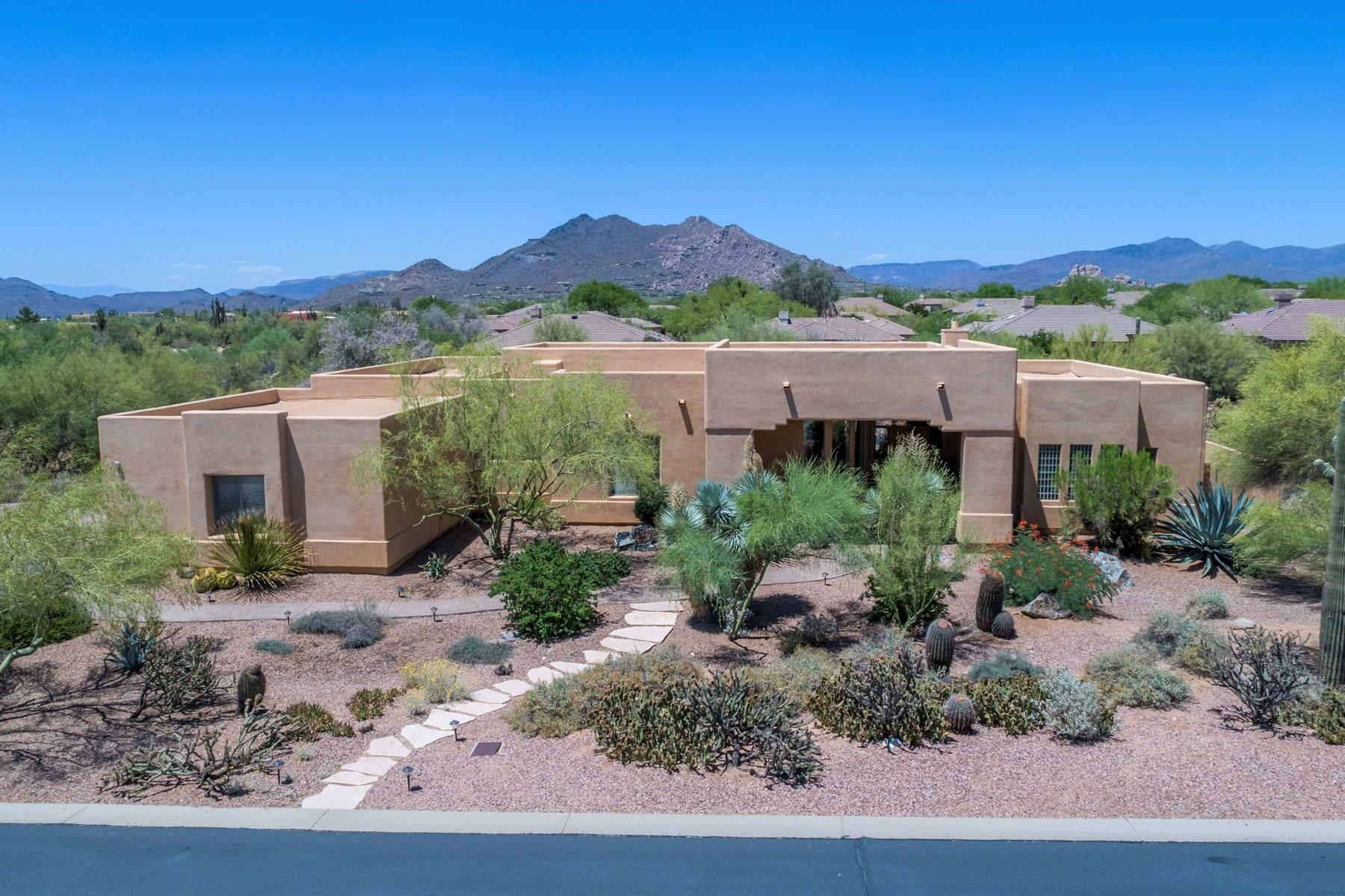 一戸建て のために 売買 アット Lovely mountains home in the gated community of Ironwood Retreat. 6848 E Burnside Trl Scottsdale, アリゾナ, 85266 アメリカ合衆国