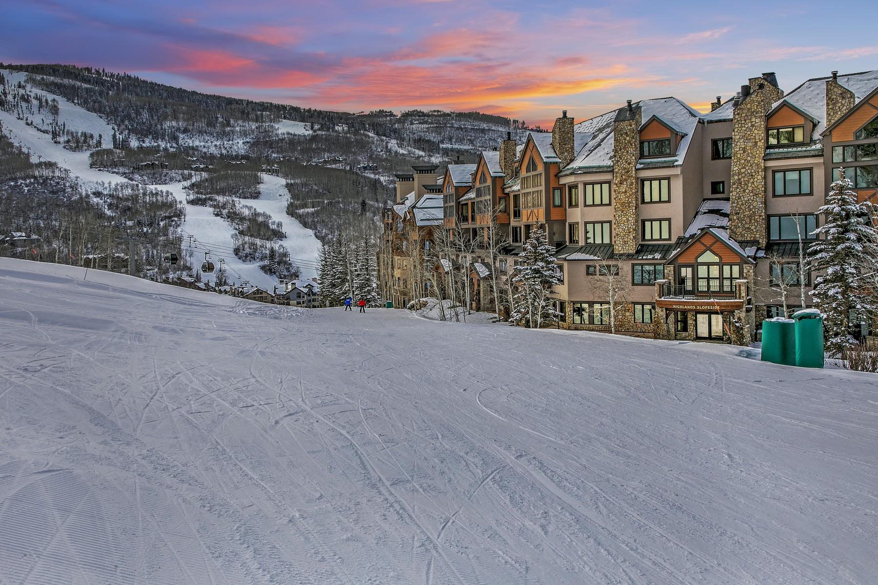 Condominiums för Försäljning vid Highlands Slopeside 506 96 Highlands Lane #506 Beaver Creek, Colorado 81620 Förenta staterna