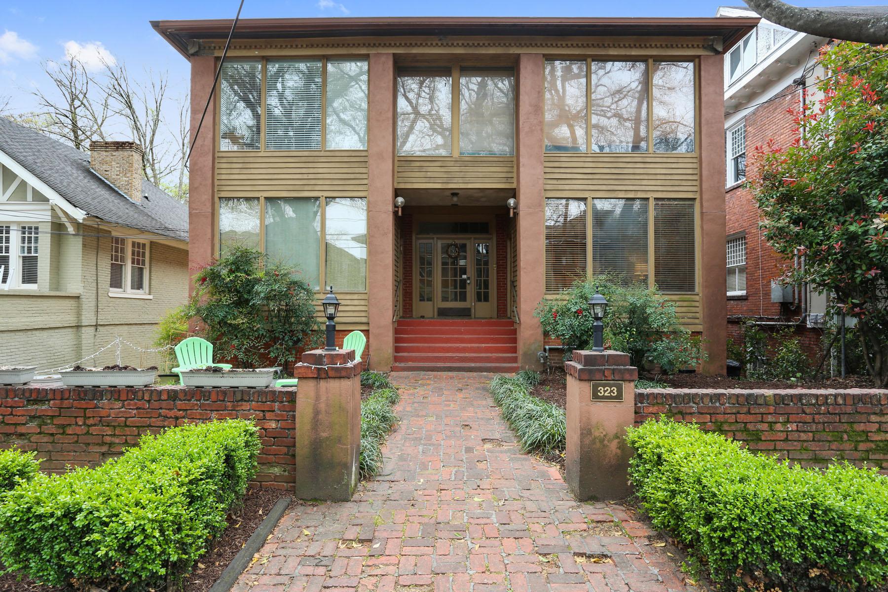 二世帯住宅 のために 売買 アット Fully Leased Apartment Building in Midtown 323 4th St Midtown, Atlanta, ジョージア, 30308 アメリカ合衆国