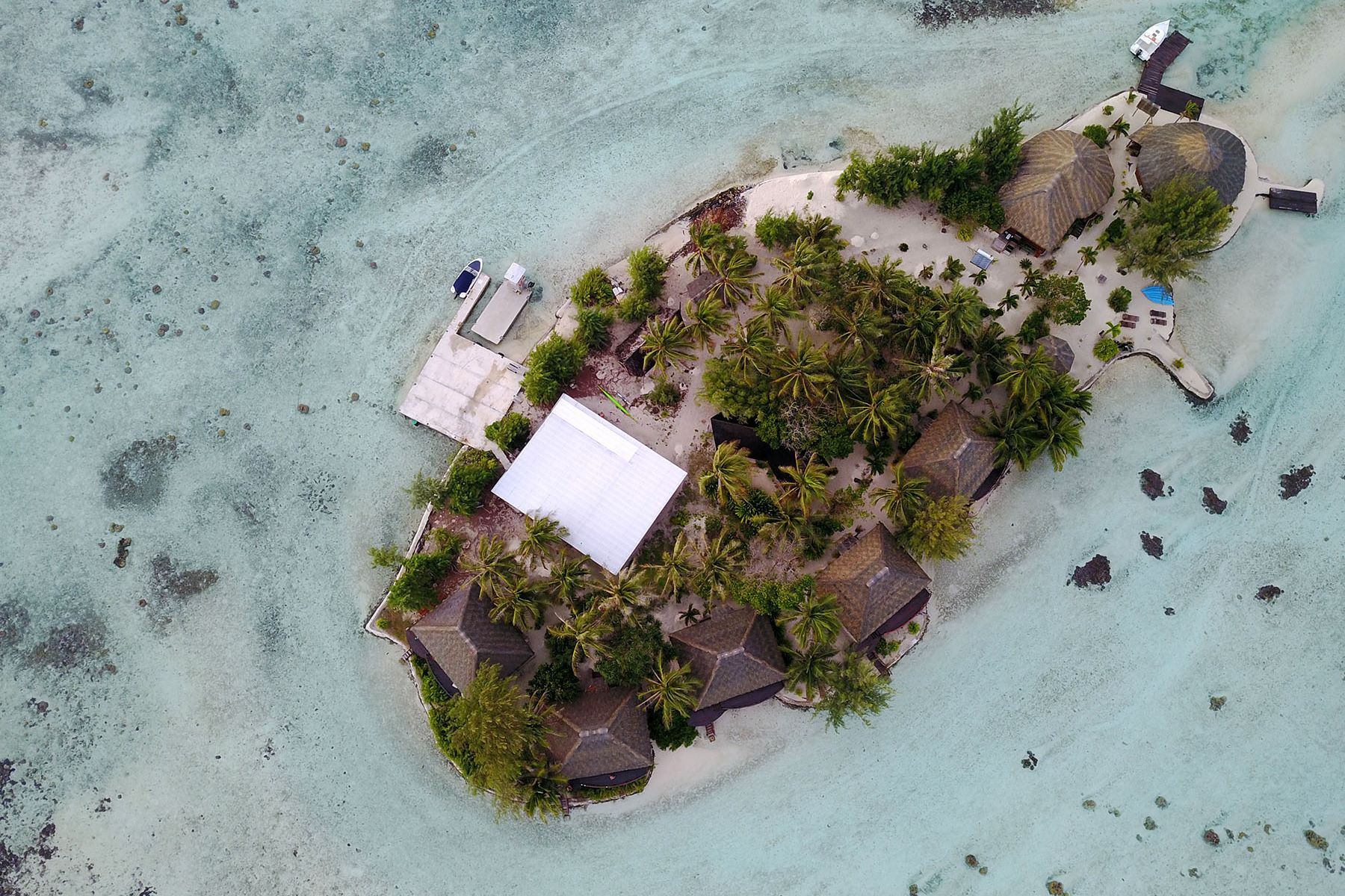 独户住宅 为 销售 在 Private islet in the heart of Leeward islands Tahaa, 法属玻利尼西亚