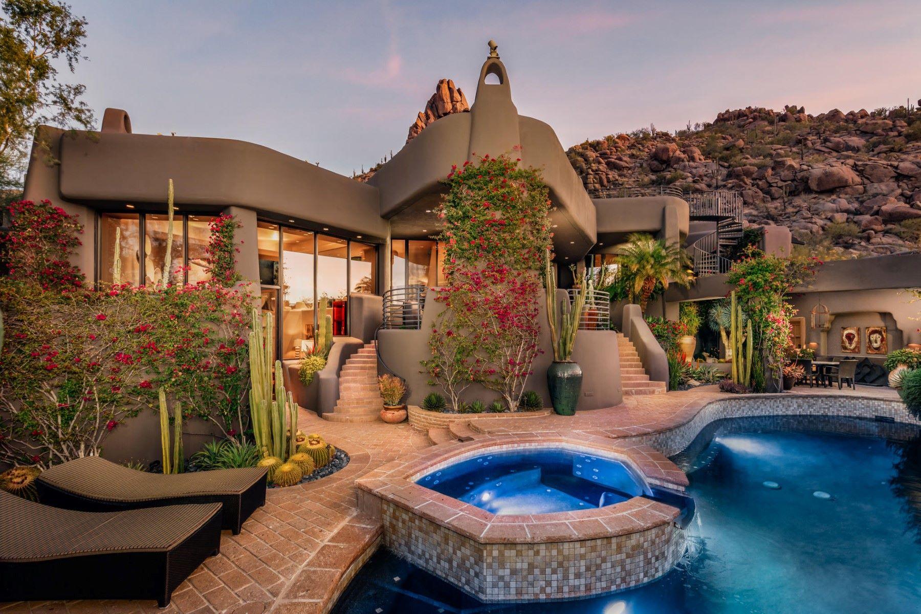 Moradia para Venda às Hillside Villa Estates 10040 E Happy Valley Rd #1049, Scottsdale, Arizona, 85255 Estados Unidos