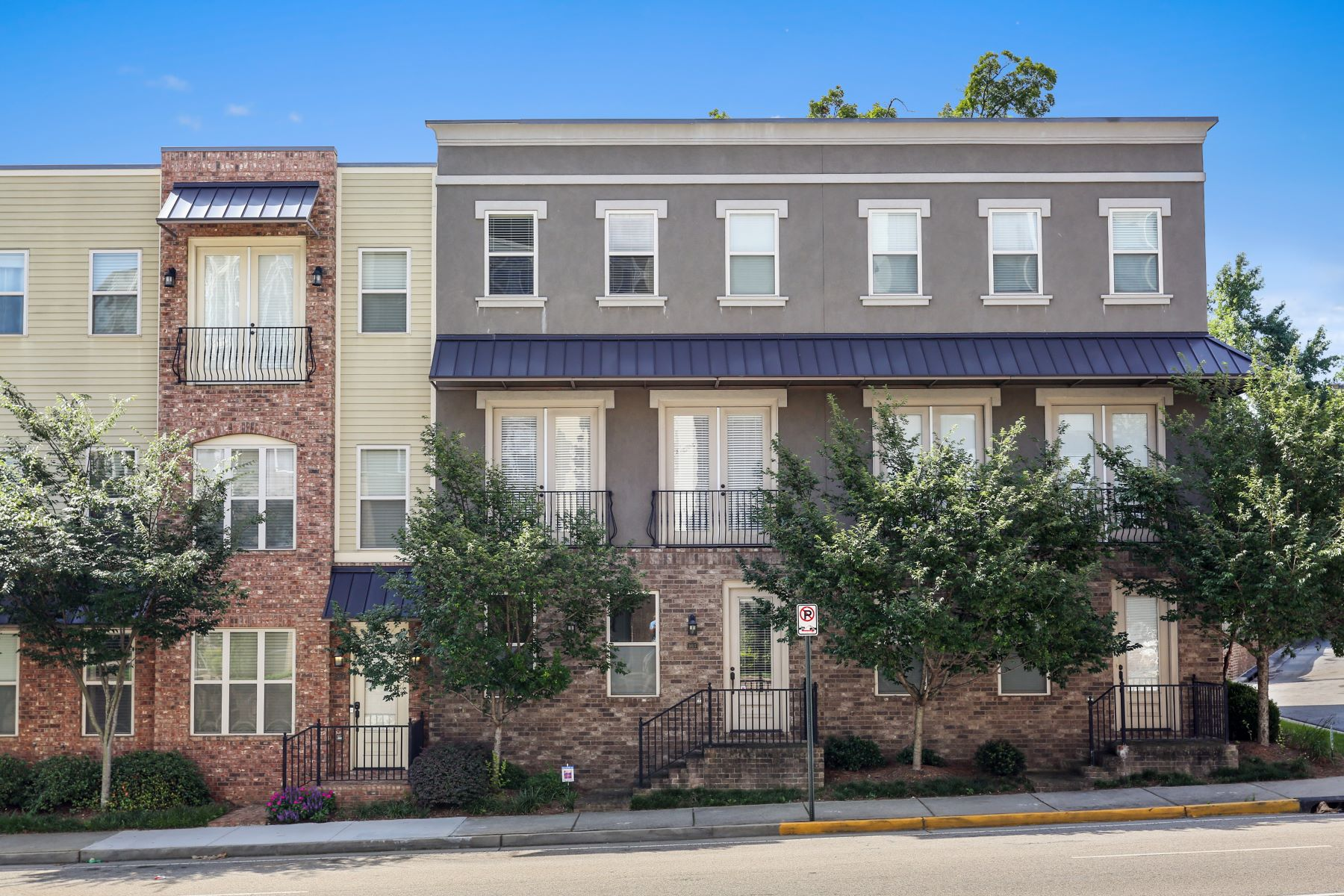 Townhouse for Rent at Sophisticated Atlantic Station Townhome 383 16th Street NW Unit 5 Atlanta, Georgia 30363 United States