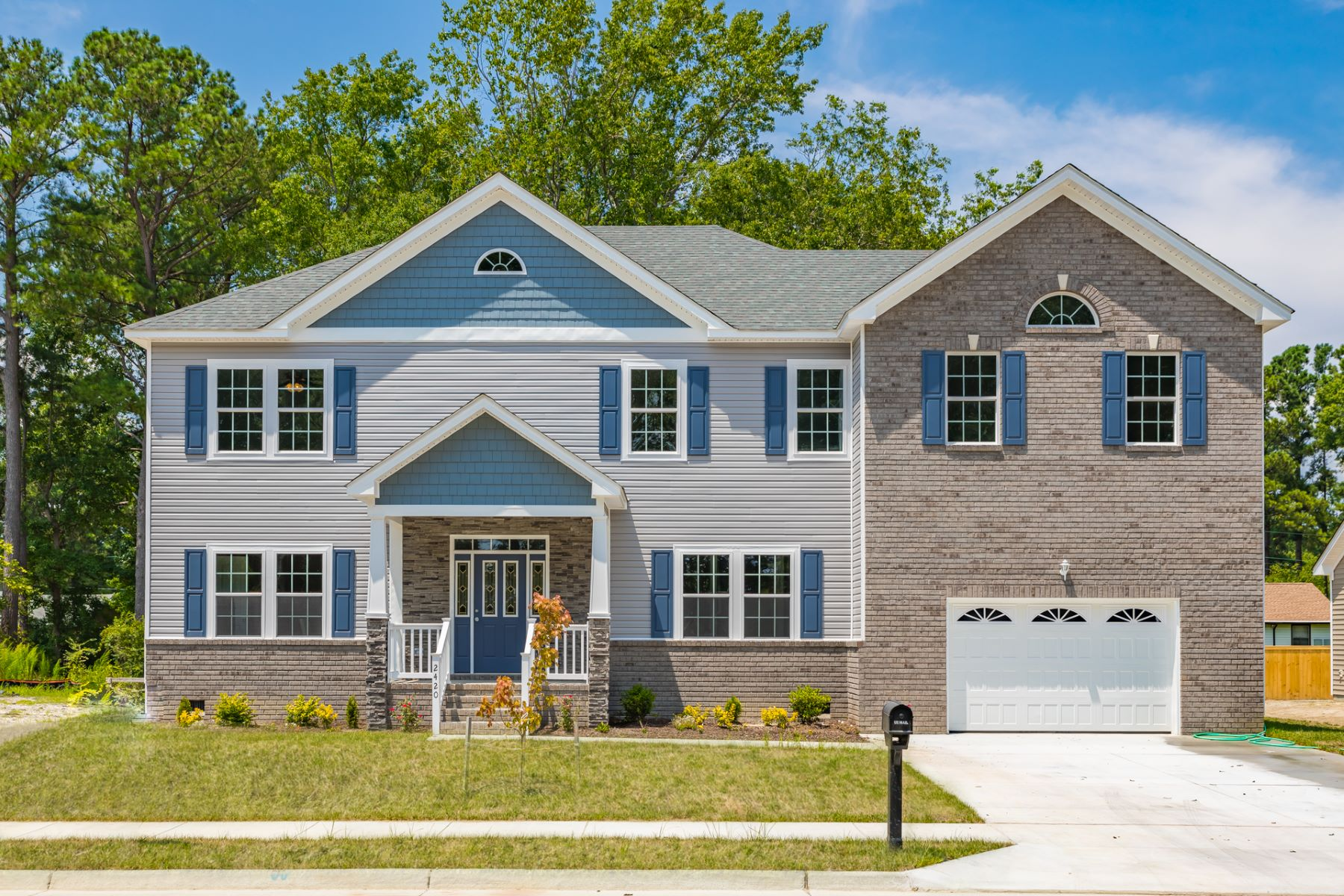 Single Family Homes for Active at DRUM CREEK FARMS 2420 Mandolin Court Chesapeake, Virginia 23321 United States