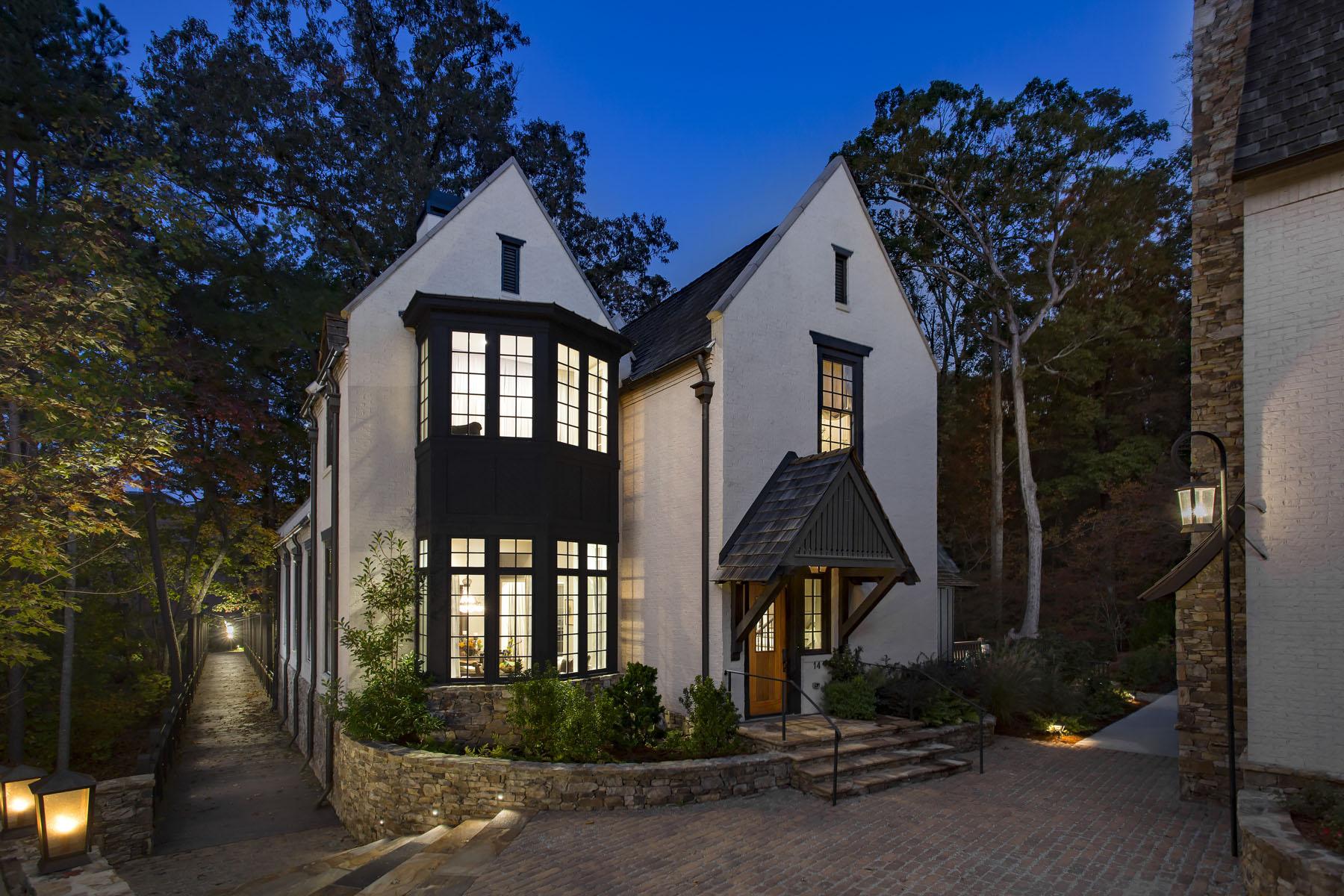 Μονοκατοικία για την Πώληση στο Exquisite European Estate Nestled in Woods of Serenbe's Swann Ridge 14 Swann Wynd Chattahoochee Hills, Γεωργια 30268 Ηνωμενεσ Πολιτειεσ