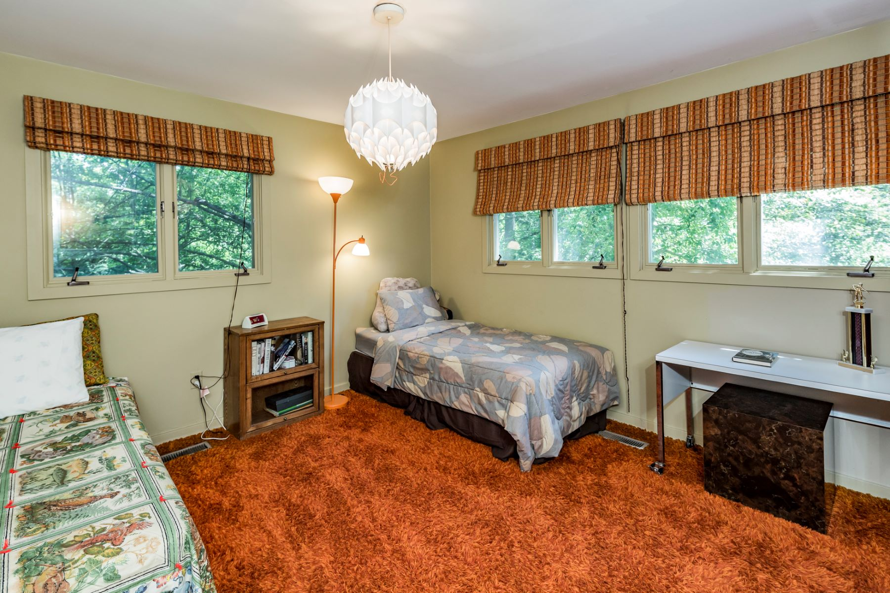 Additional photo for property listing at A True Mid Century Modern and an Emerald Landscape 84 Allison Road, Princeton, New Jersey 08540 United States