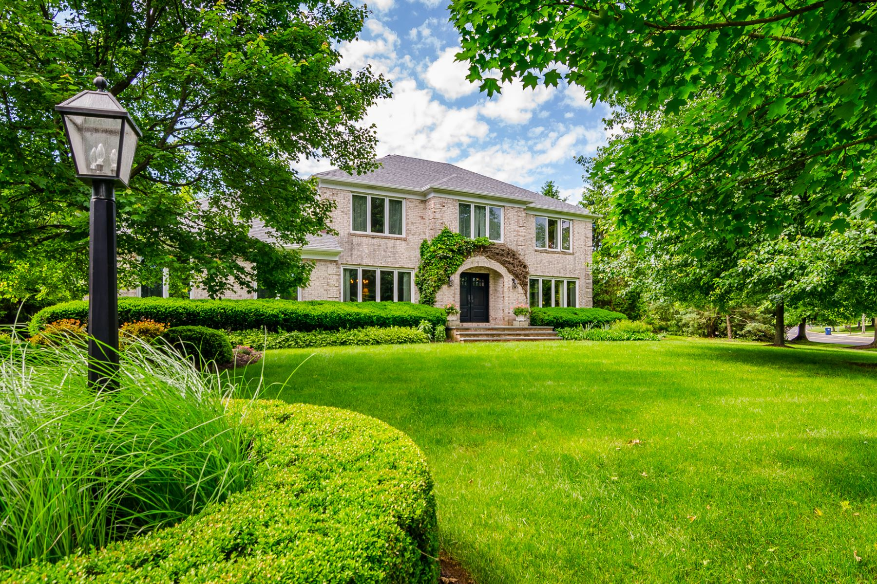 Single Family Home for Sale at The Essence of Elegant Simplicity 2 Glenbrook Court, Lawrenceville, New Jersey 08648 United StatesMunicipality: Lawrence Township