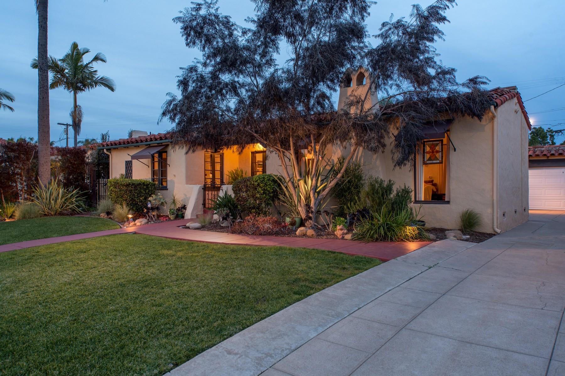 独户住宅 为 销售 在 5217 Canterbury Drive Kensington, 圣地亚哥, 加利福尼亚州, 92116 美国