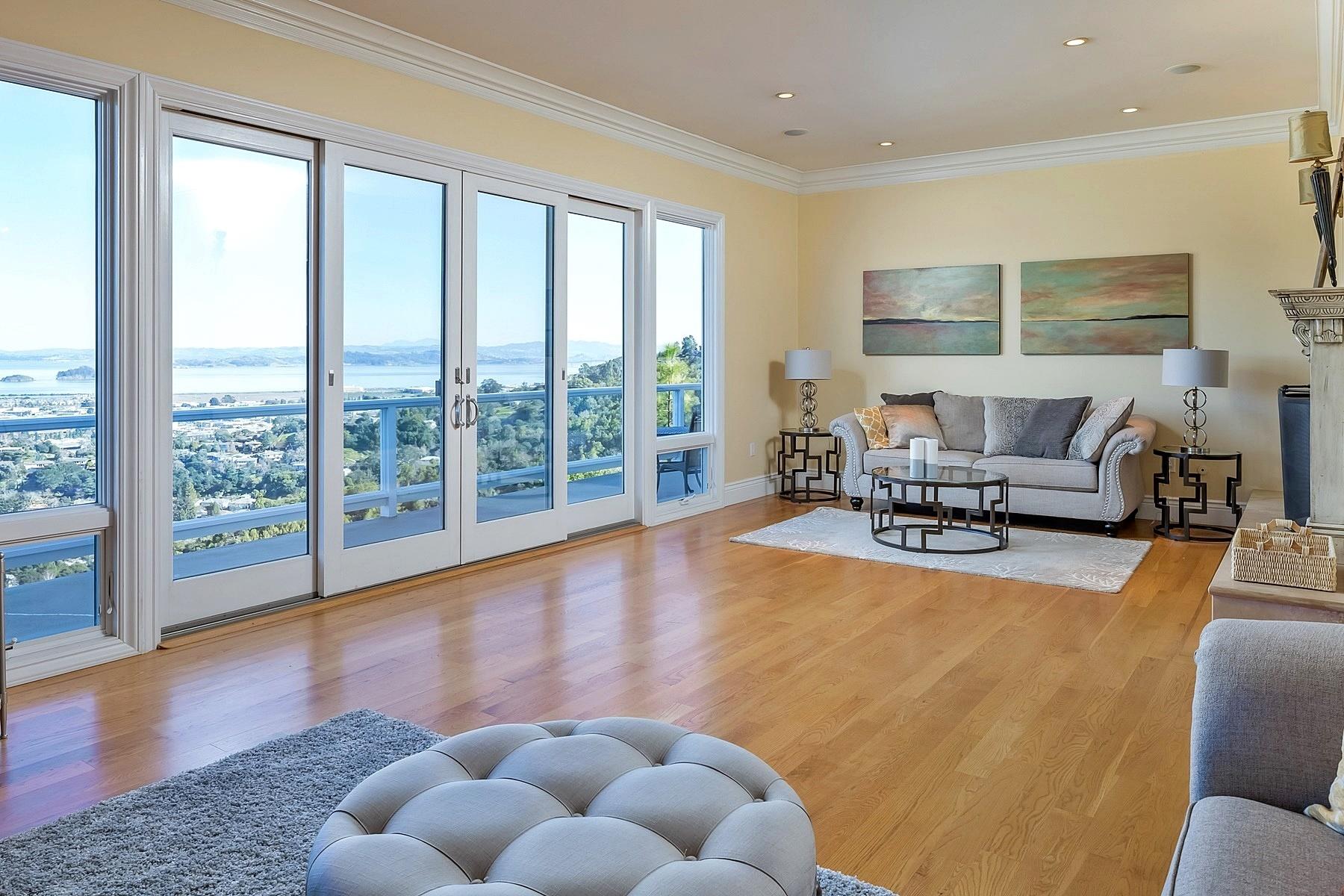 Single Family Home for Sale at Serenity ~ Captivating ~ Panoramic 212 Bret Harte Road San Rafael, California, 94901 United States