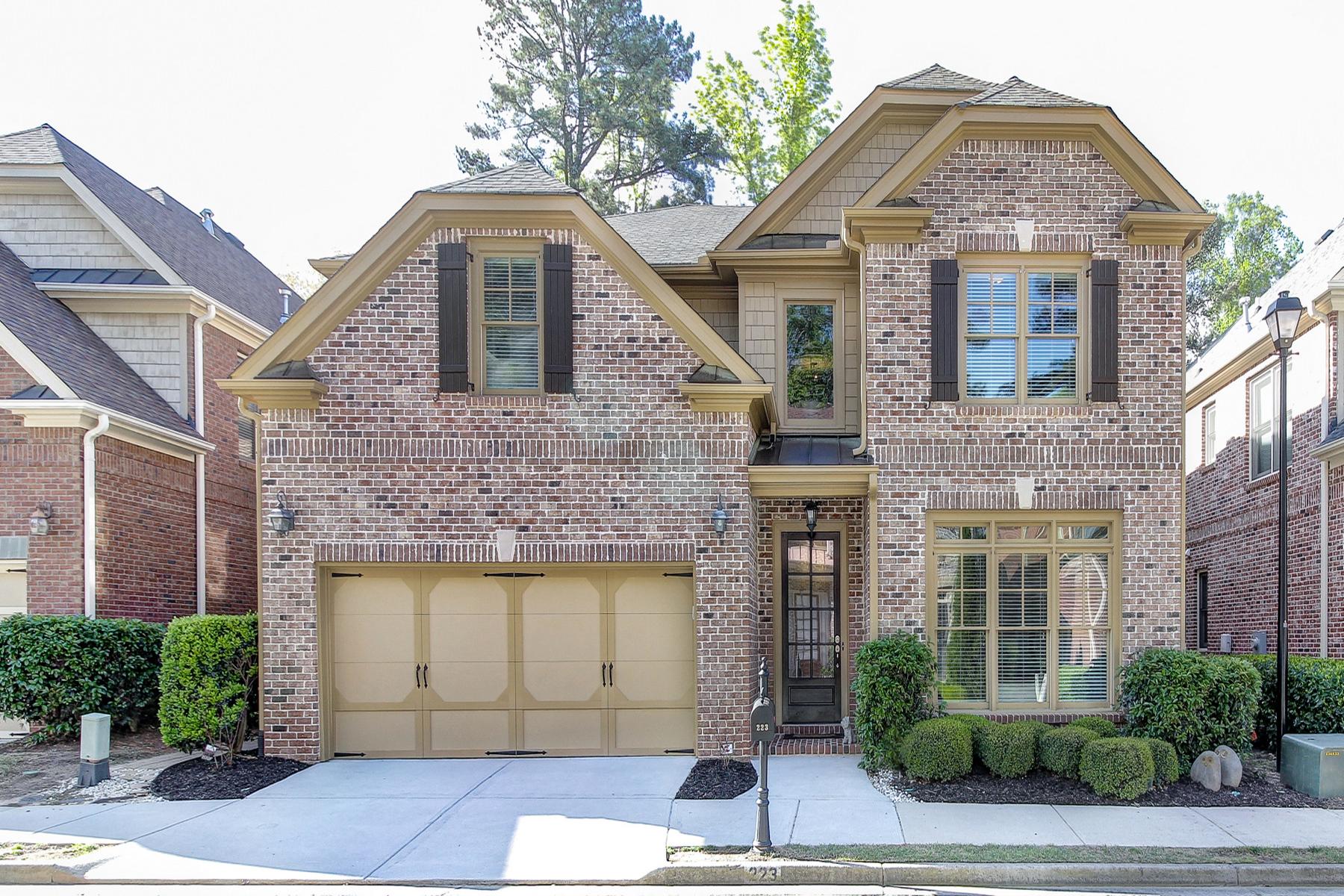 獨棟家庭住宅 為 出售 在 Amazing Location In Heart Of Sandy Springs 223 Mount Vernon Cove Atlanta, 喬治亞州, 30328 美國