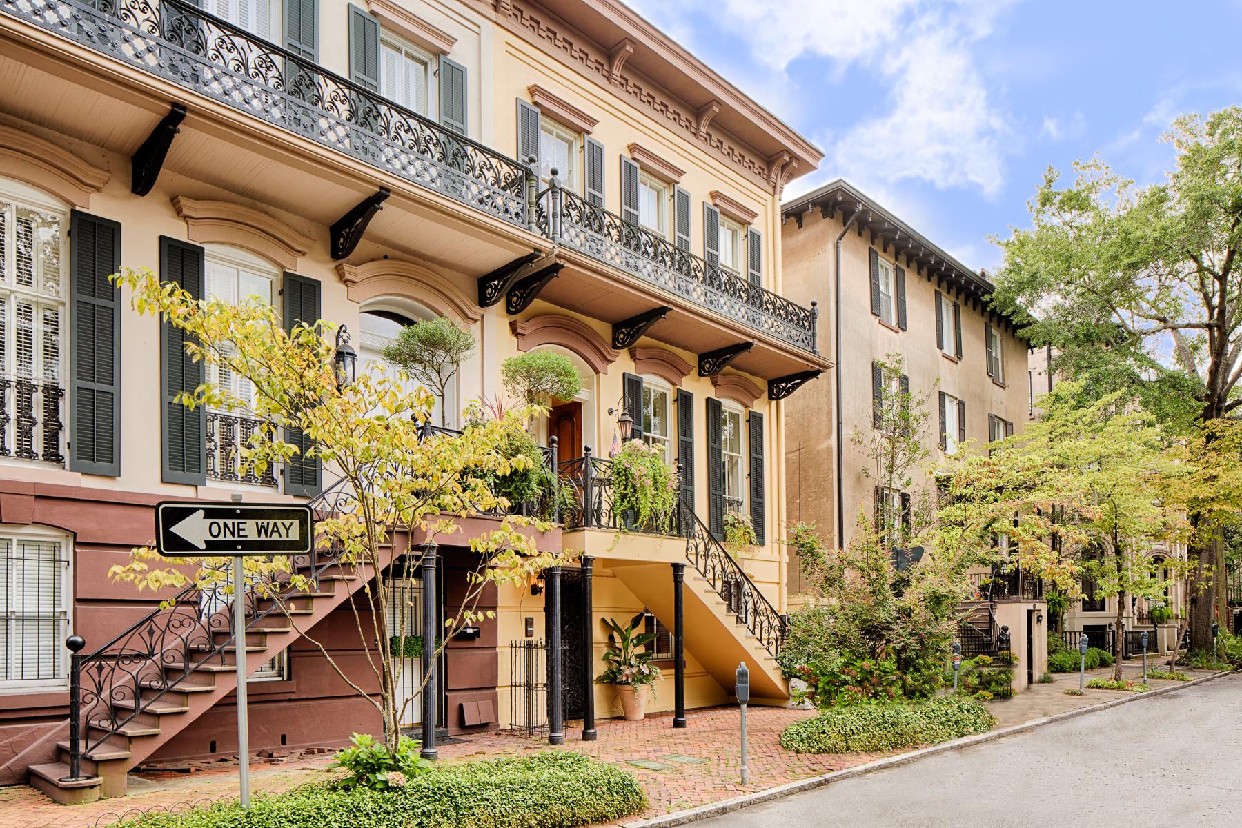 Maison unifamiliale pour l Vente à 9 West Gordon Street 9 West Gordon Street Savannah, Georgia 31401 États-Unis