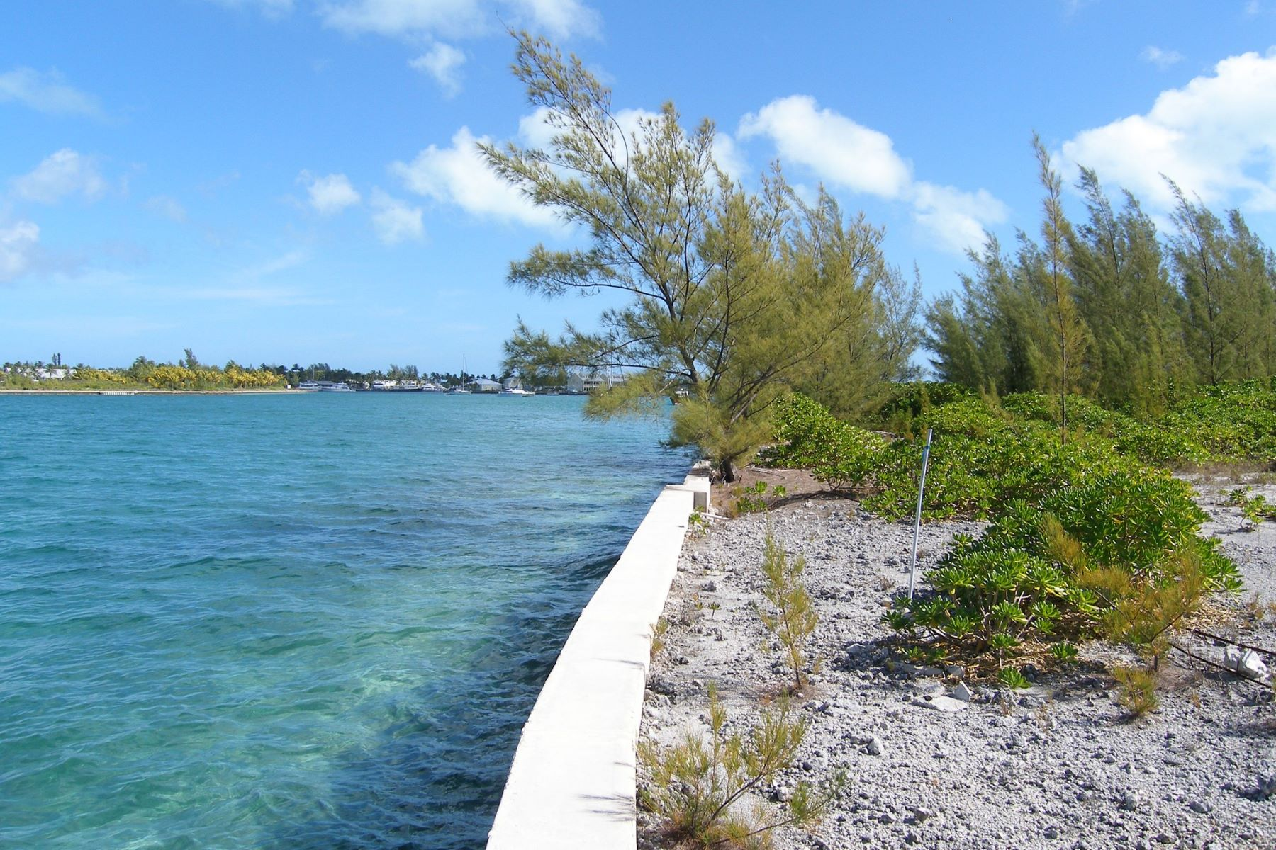 Land for Sale at Marina Entrance Canalfront Lot Treasure Cay, Abaco Bahamas