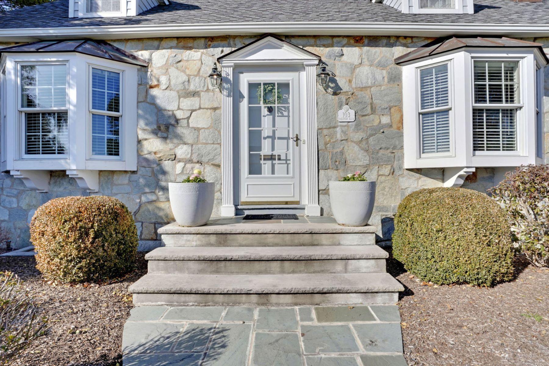 single family homes per Vendita alle ore Charming Cape Cod 103 Trenton Boulevard, Sea Girt, New Jersey 08750 Stati Uniti