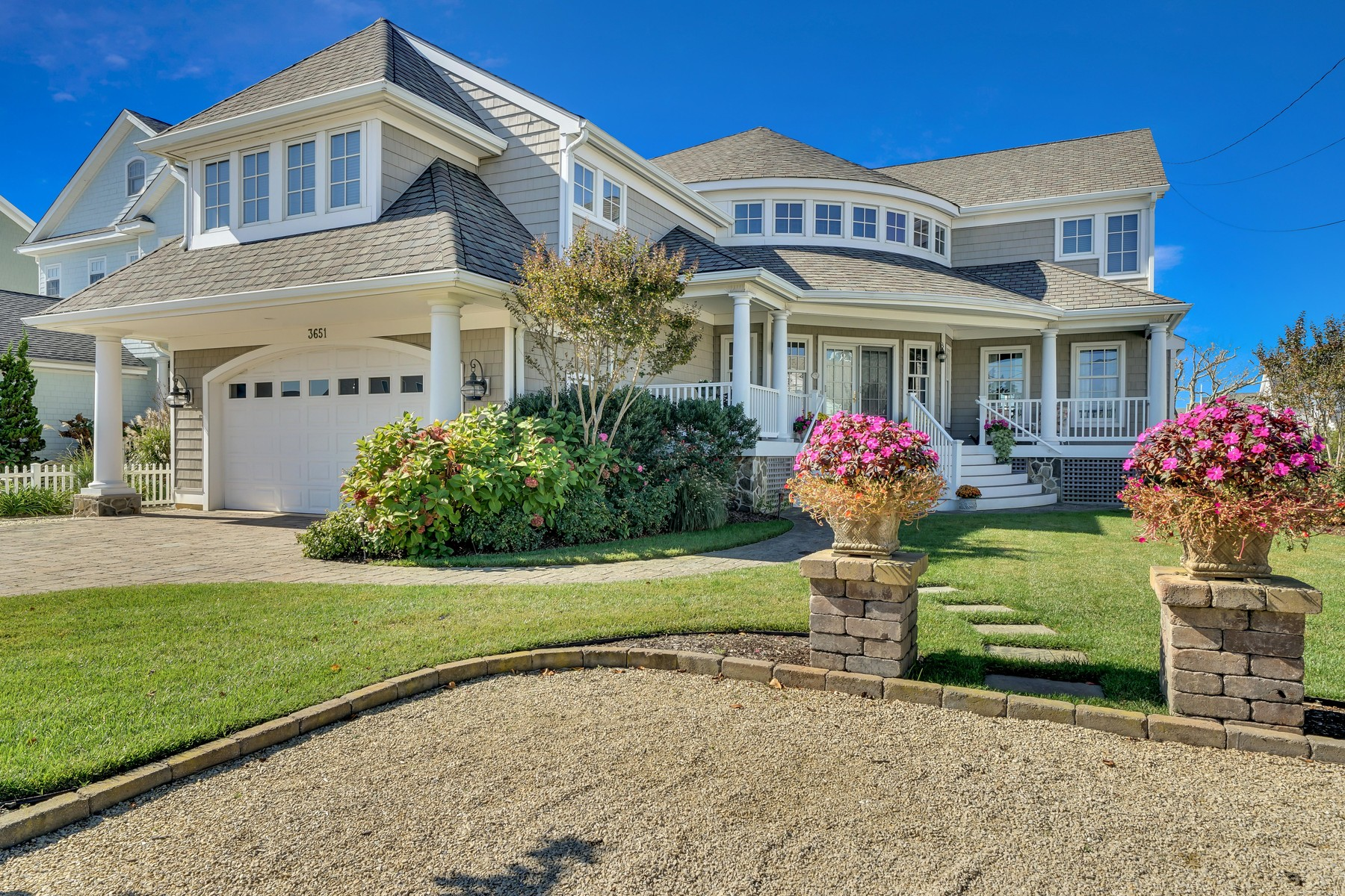 Single Family Home for Sale at Spectacular Custom Home With Open Bay Views 3651 Bayside Court, Normandy Beach, New Jersey, 08739 United States