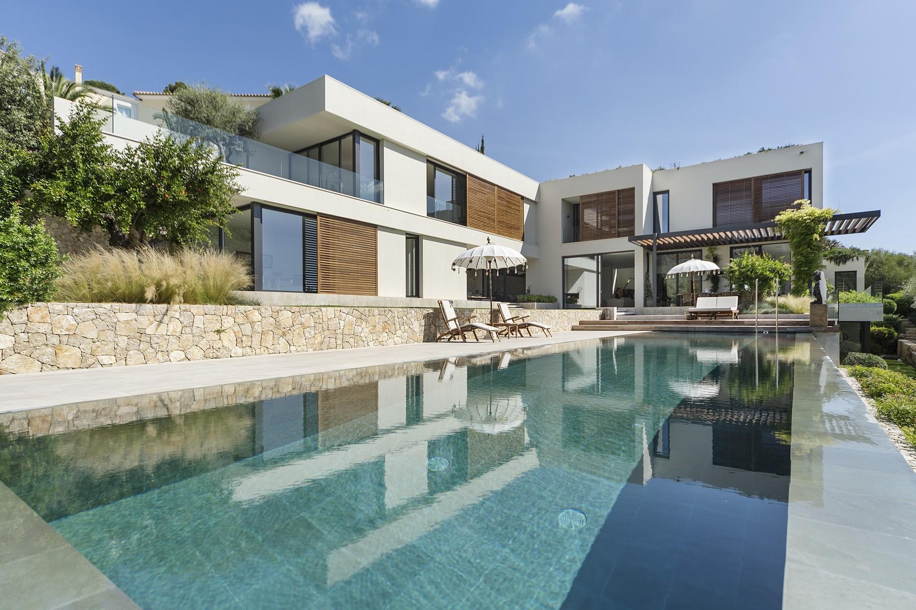 Moradia para Arrendamento às Luxury villa in the exclusive suburb of Son Vida Son Vida, Palma De Maiorca, Espanha