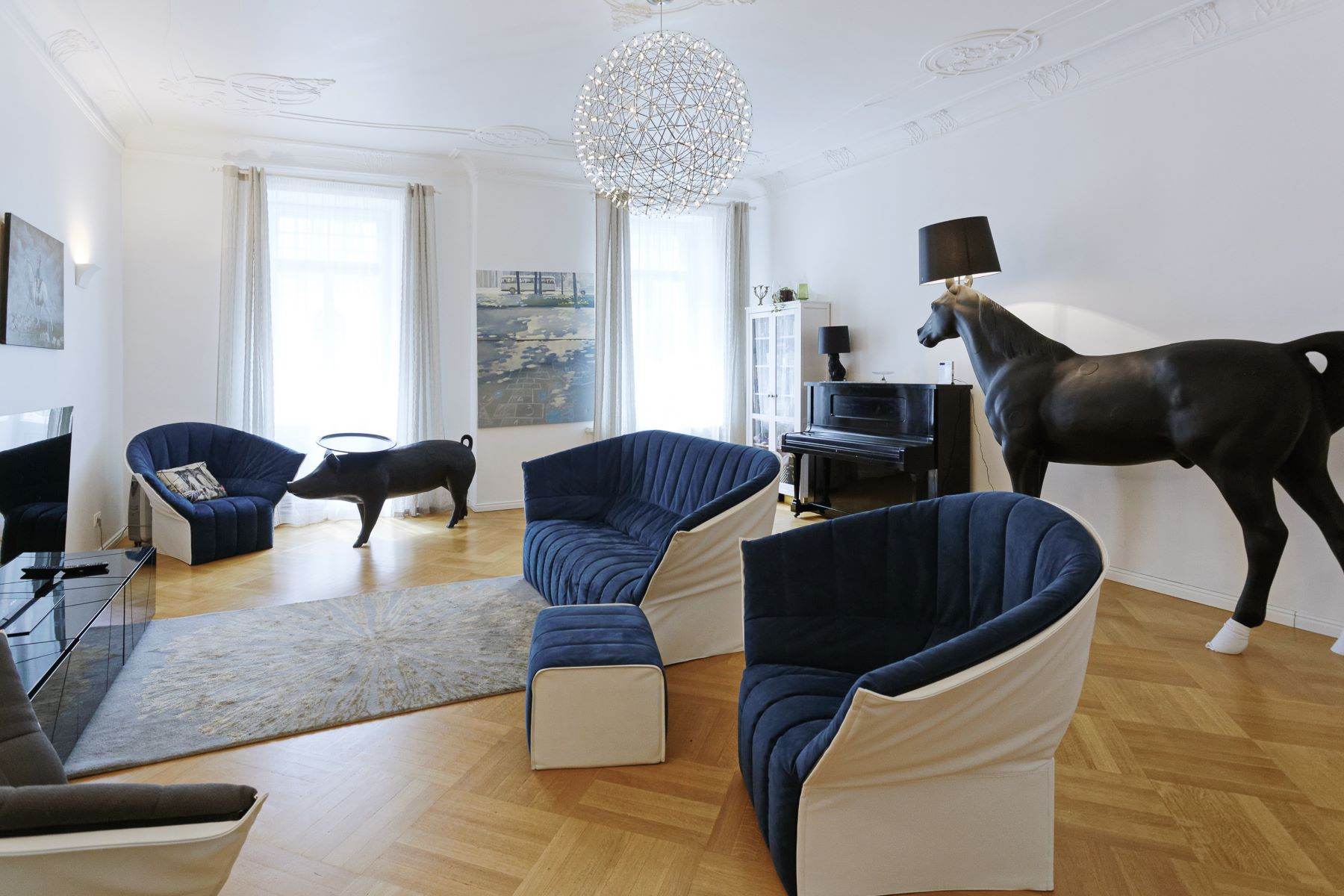 شقة للـ Sale في Sophisticated apartment at Alberta Street Riga, Other Areas In Latvia, Latvia