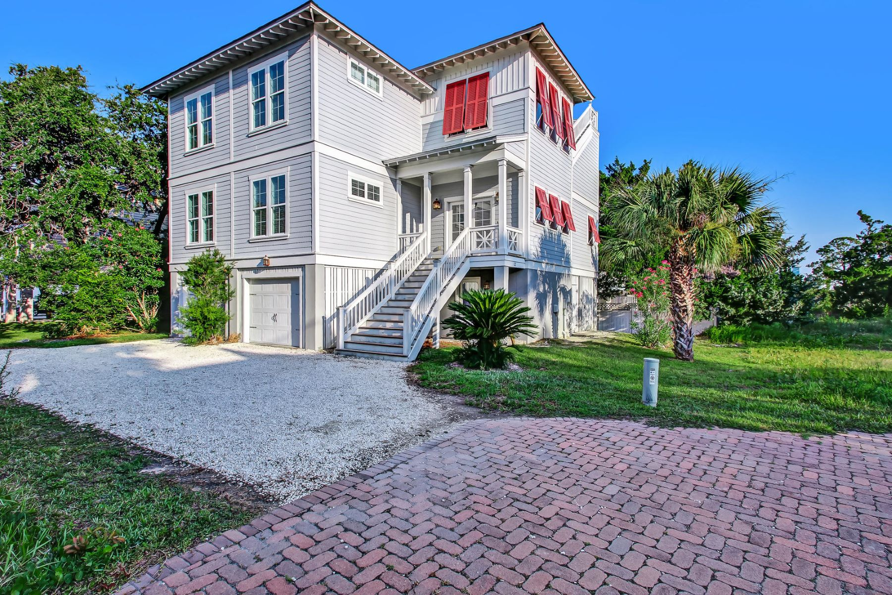 Single Family Homes for Active at 12 Sanctuary Place Tybee Island, Georgia 31328 United States