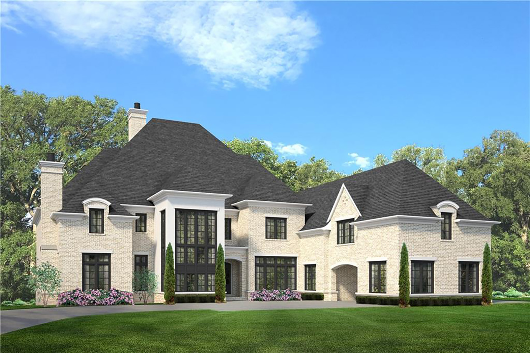 Single Family Homes for Sale at Extraordinary New Construction in the Heart of Buckhead 4520 Northside Drive Atlanta, Georgia 30327 United States