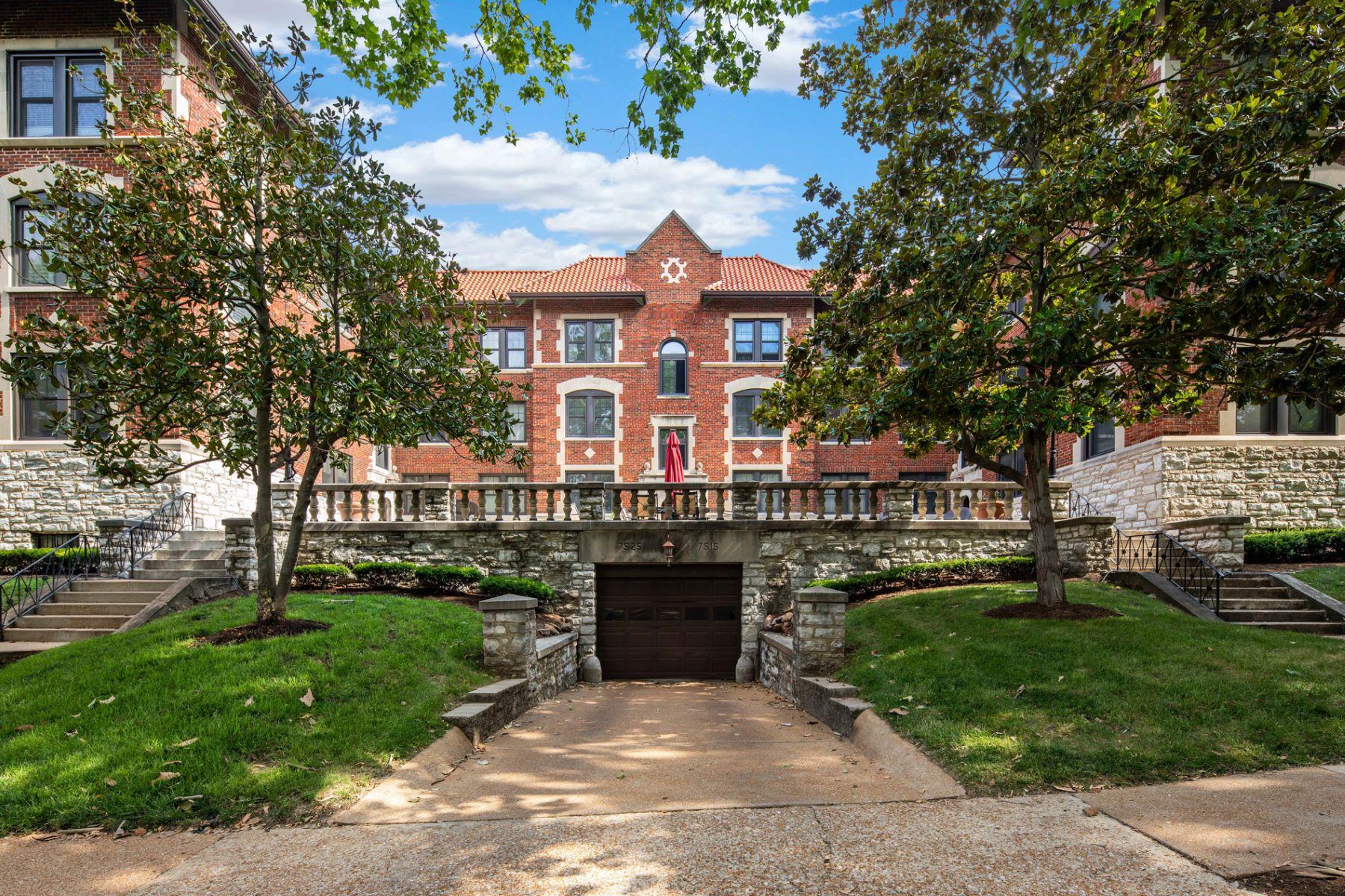 Condominium for Sale at Buckingham Dr 7525 Buckingham Dr # 1N St. Louis, Missouri 63105 United States