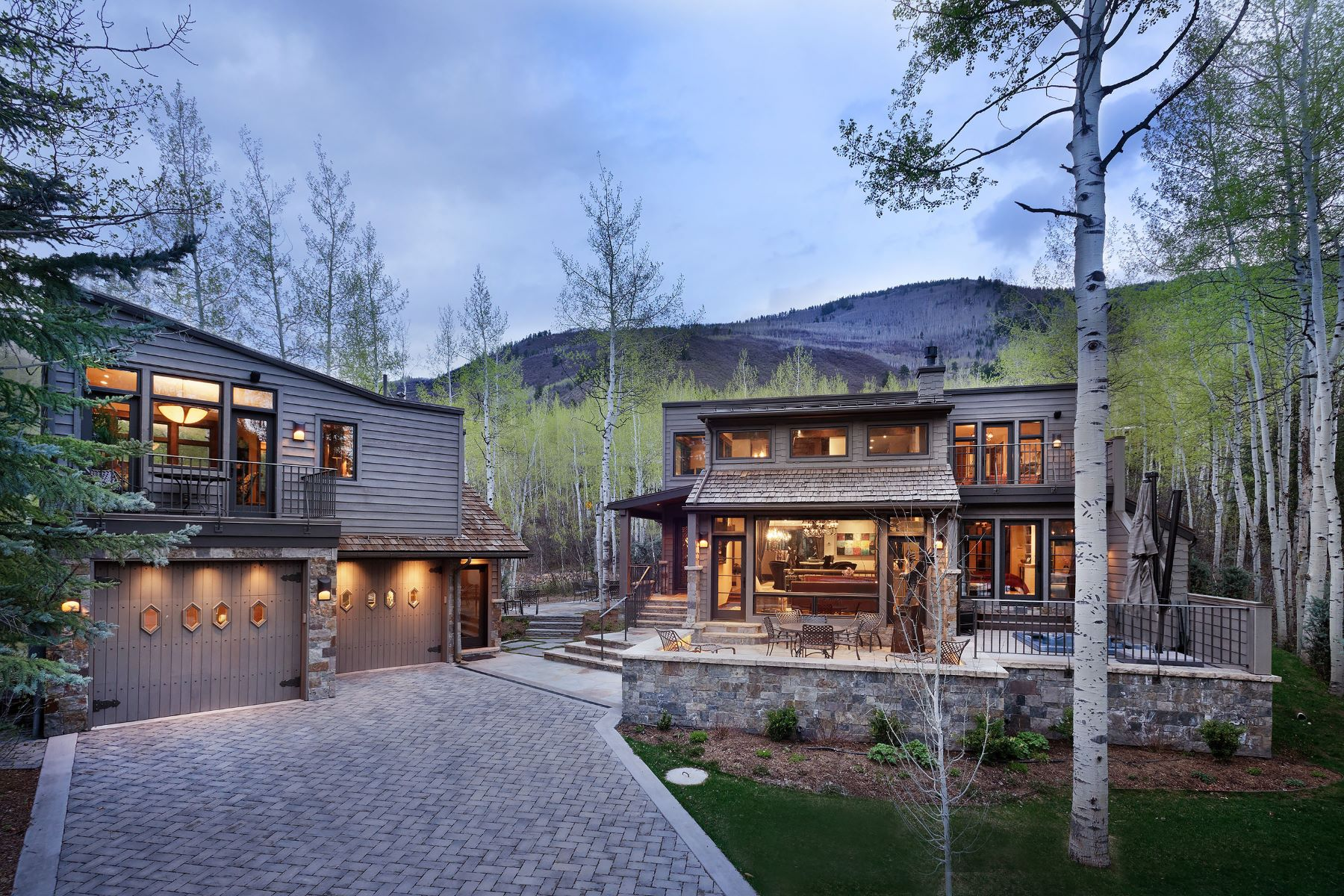 Single Family Home for Sale at End of the Cul-de-Sac Privacy in a Quiet, Natural Setting with Views 1345 Mayflower Court Aspen, Colorado, 81611 United States