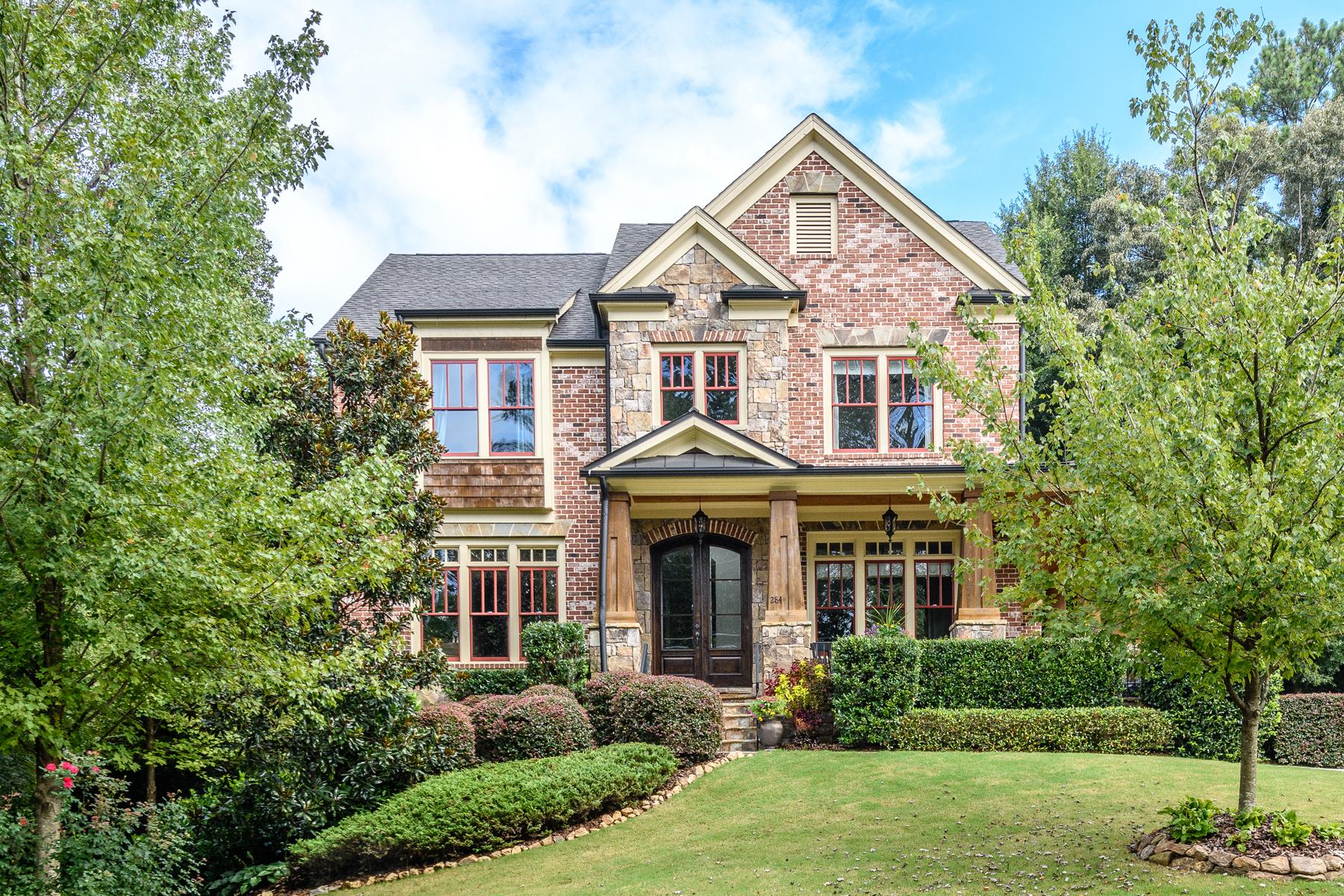 一戸建て のために 売買 アット Newer Craftsman Home With Cook's Kitchen Opening To Fireside Den 284 Hedden Road Atlanta, ジョージア 30342 アメリカ合衆国